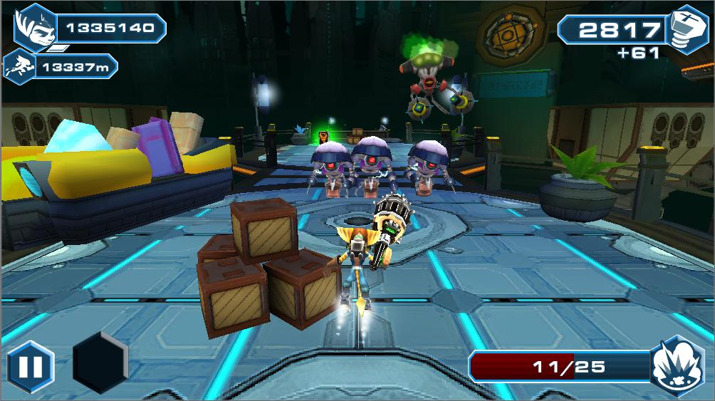 Ratchet and Clank going mobile with Before the Nexus