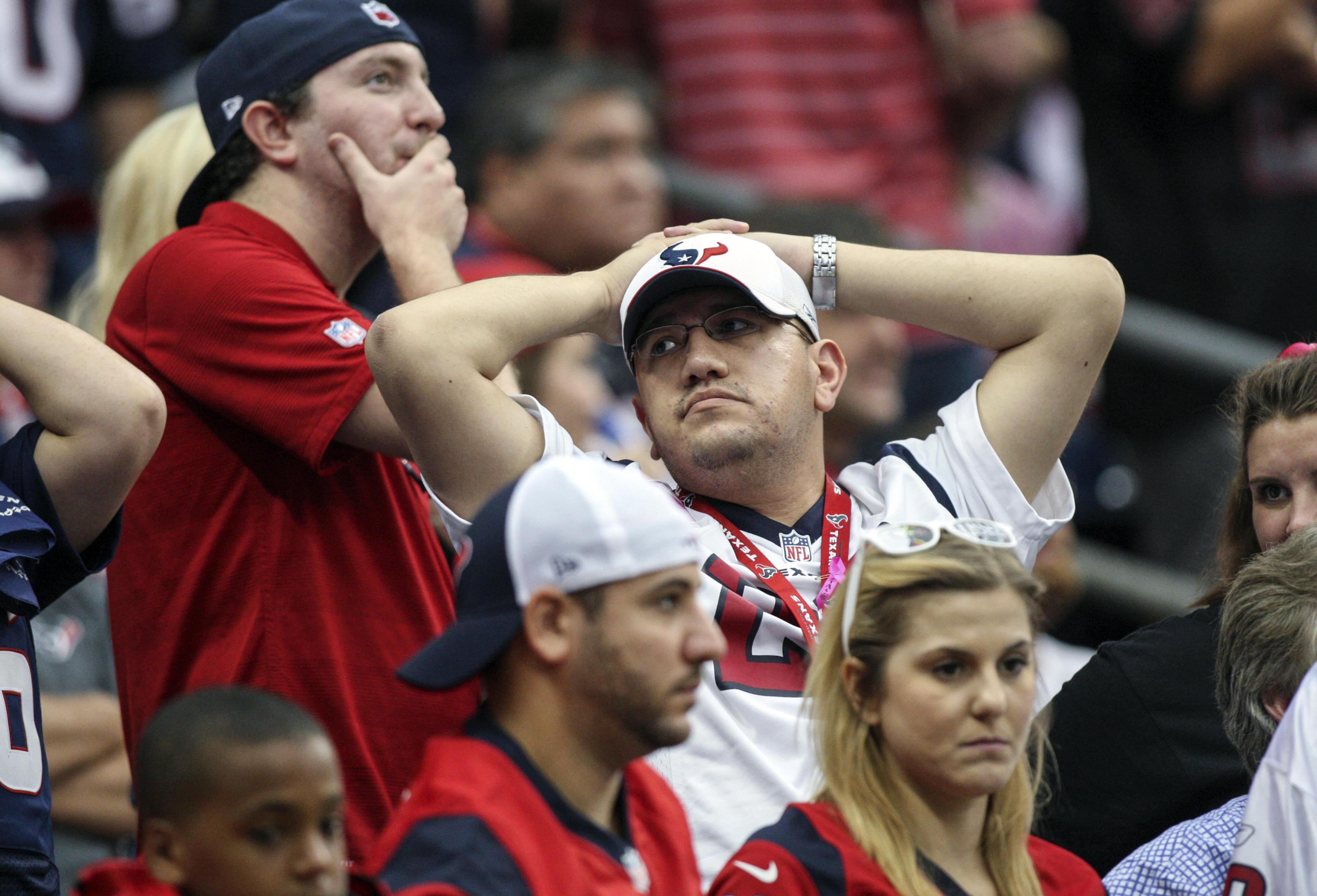 The 2013 Houston Texans season in a single pose.