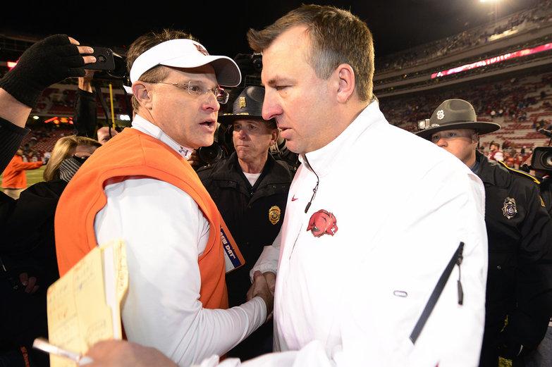 Auburn beats Arkansas, and the Bielema-Malzahn rivalry has just begun