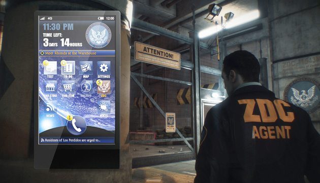 Dead Rising 3's SmartGlass Companion will feel like a real cell phone
