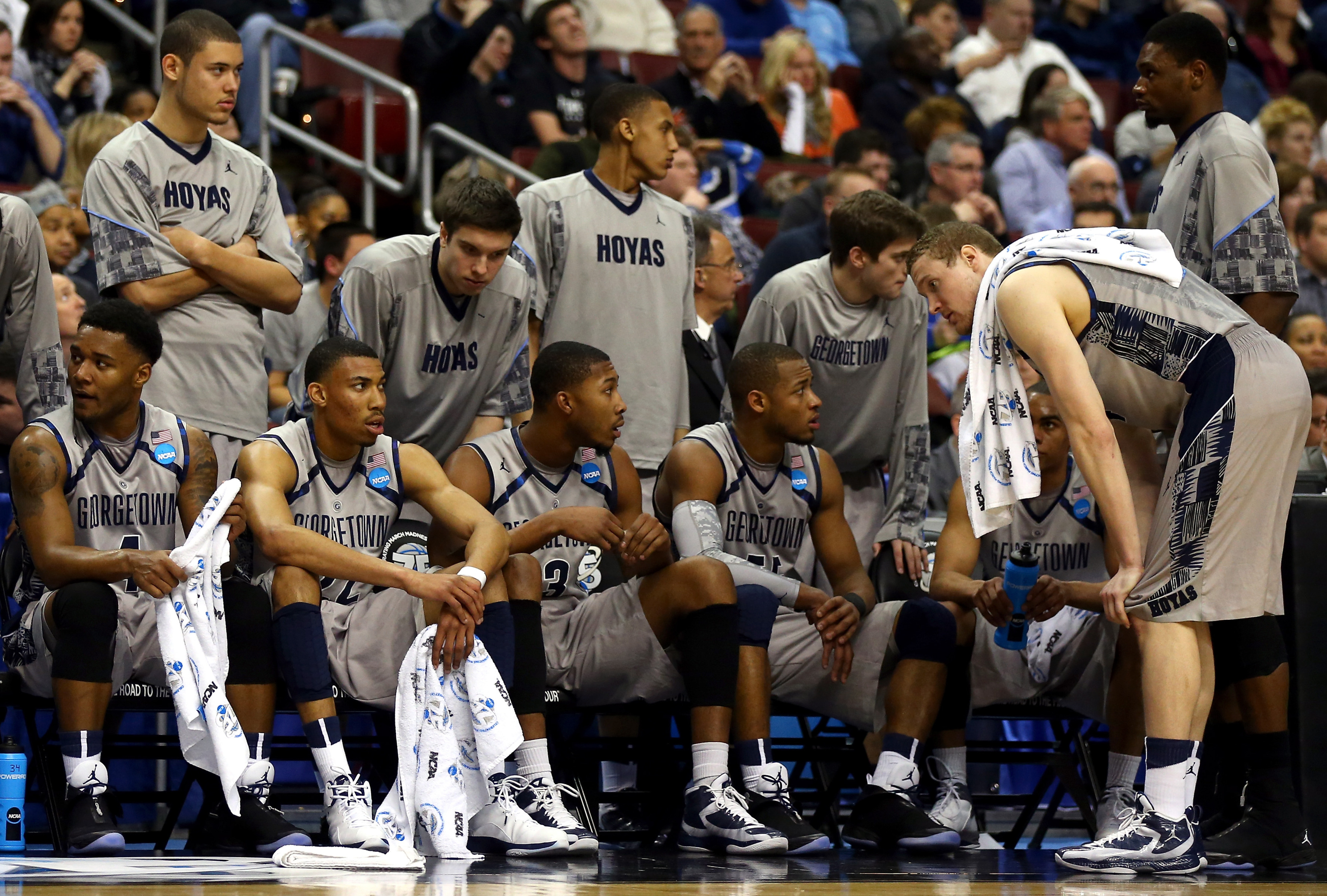 DSR joins in the recent Georgetown tradition of gutting early round losses.