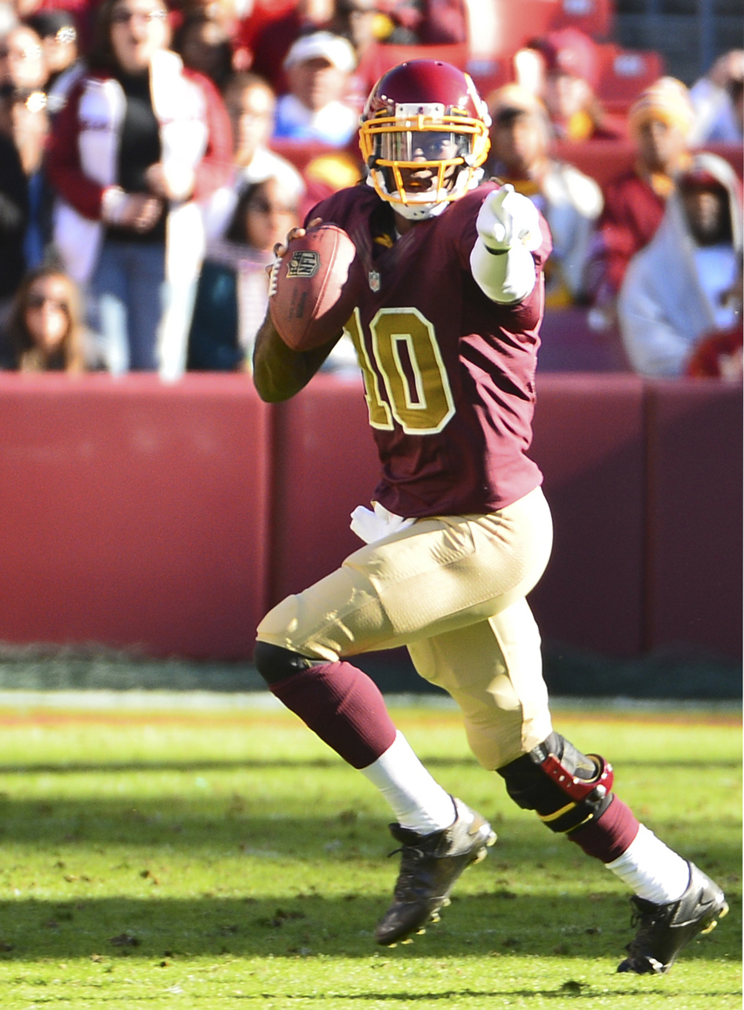 RGIII is starting to look more like himself, but don't assume he and the Redskins can duplicate their 2012 late season surge.