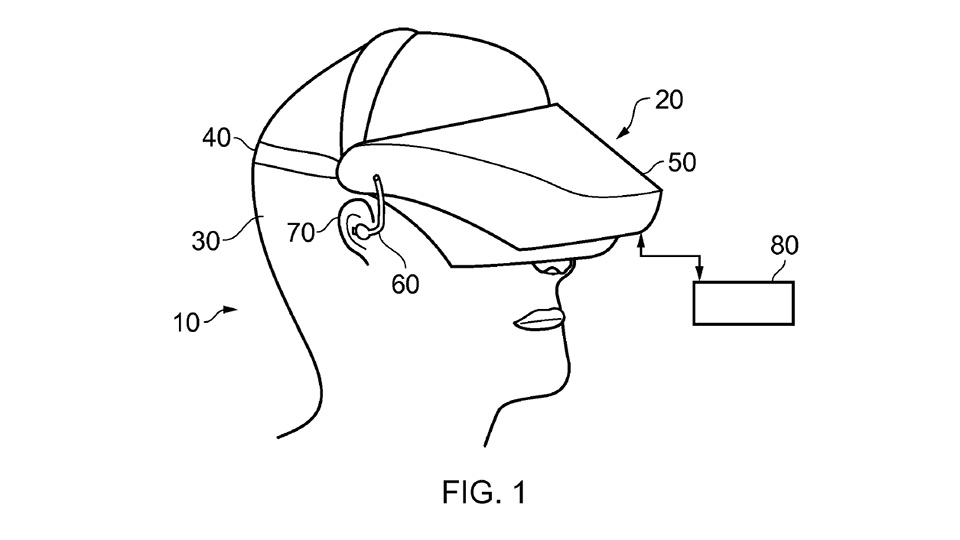 Sony patents for head-mounted display tech surface
