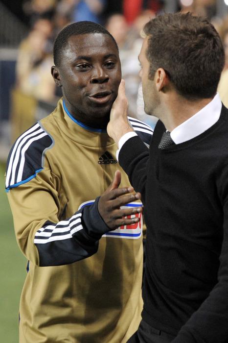 Freddy Adu talks with Ben Olsen. Could we see him back in MLS?