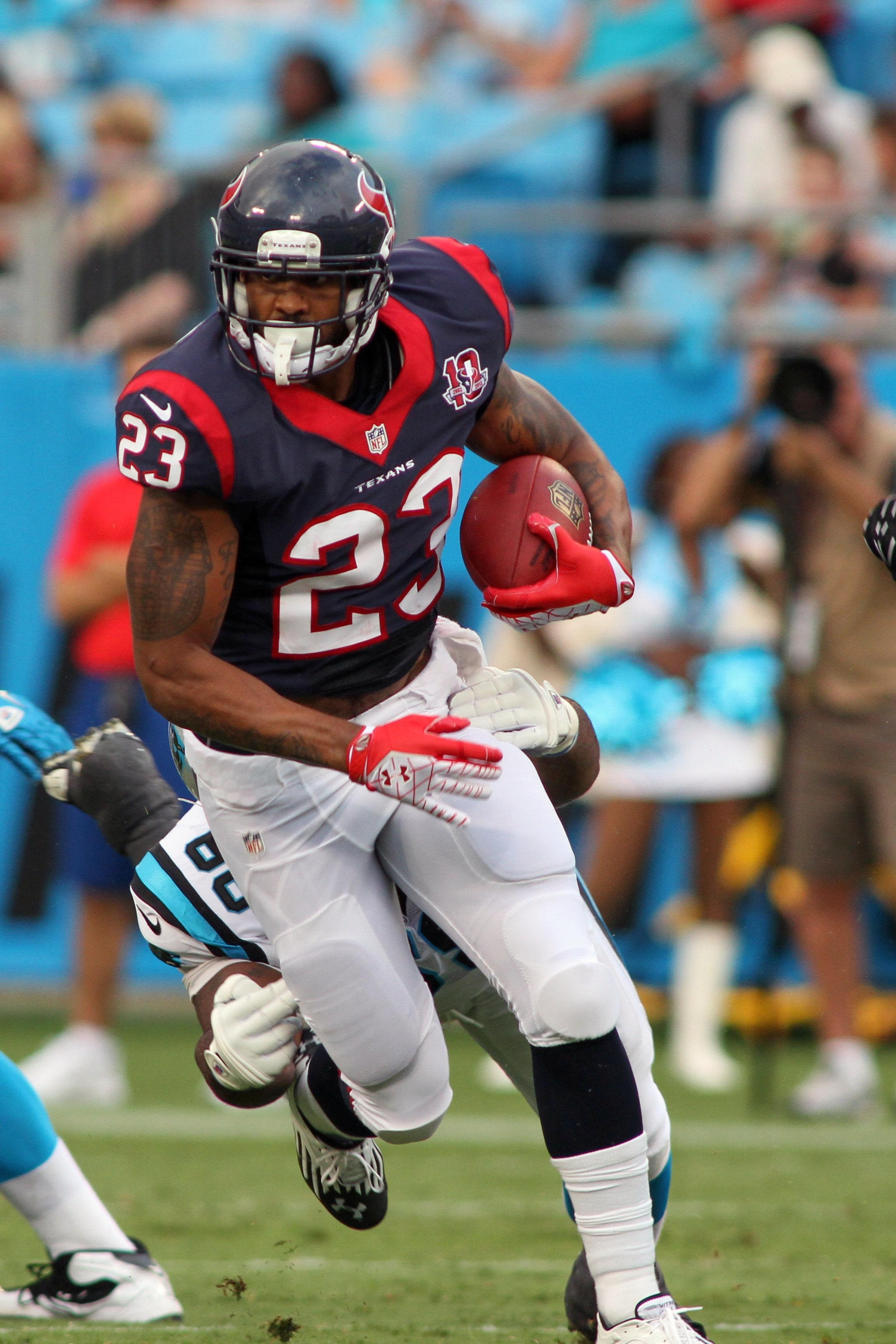 Arian Foster injury: Texans RB out for season with lumbar issue