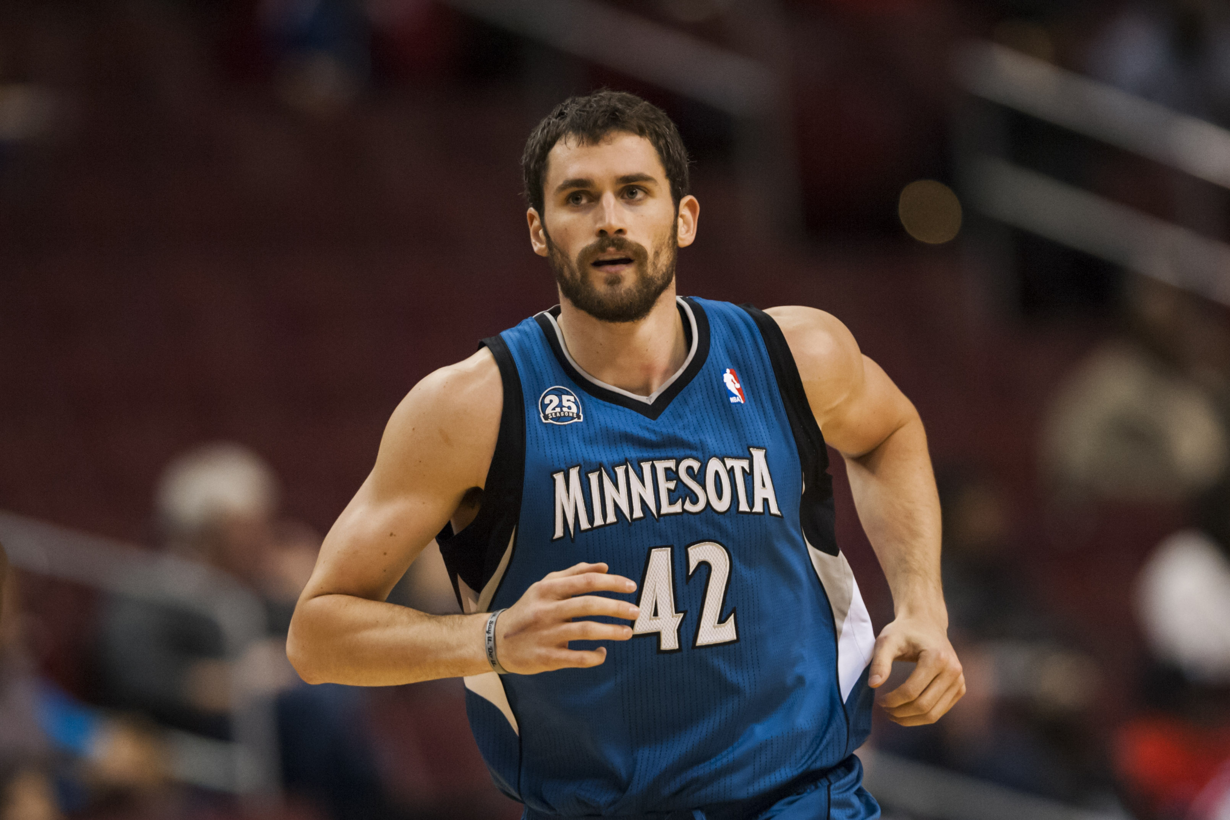 Kevin Love is off to a heck of a start.