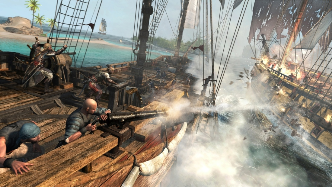 How Assassin's Creed 4's Remote Play works on PlayStation 4