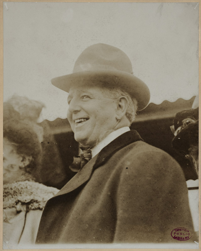 Charles Comiskey in 1910.
