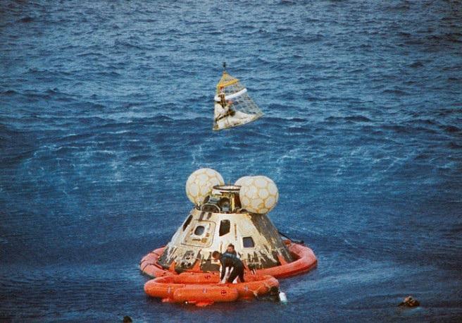 Apollo 13 command module Odyssey