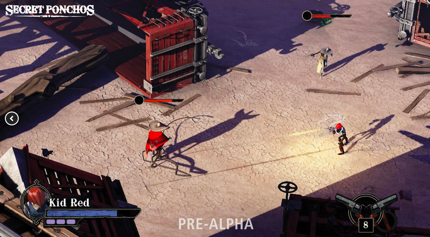 Secret Ponchos now running on Sony's PhyreEngine, coming to PS Plus in April