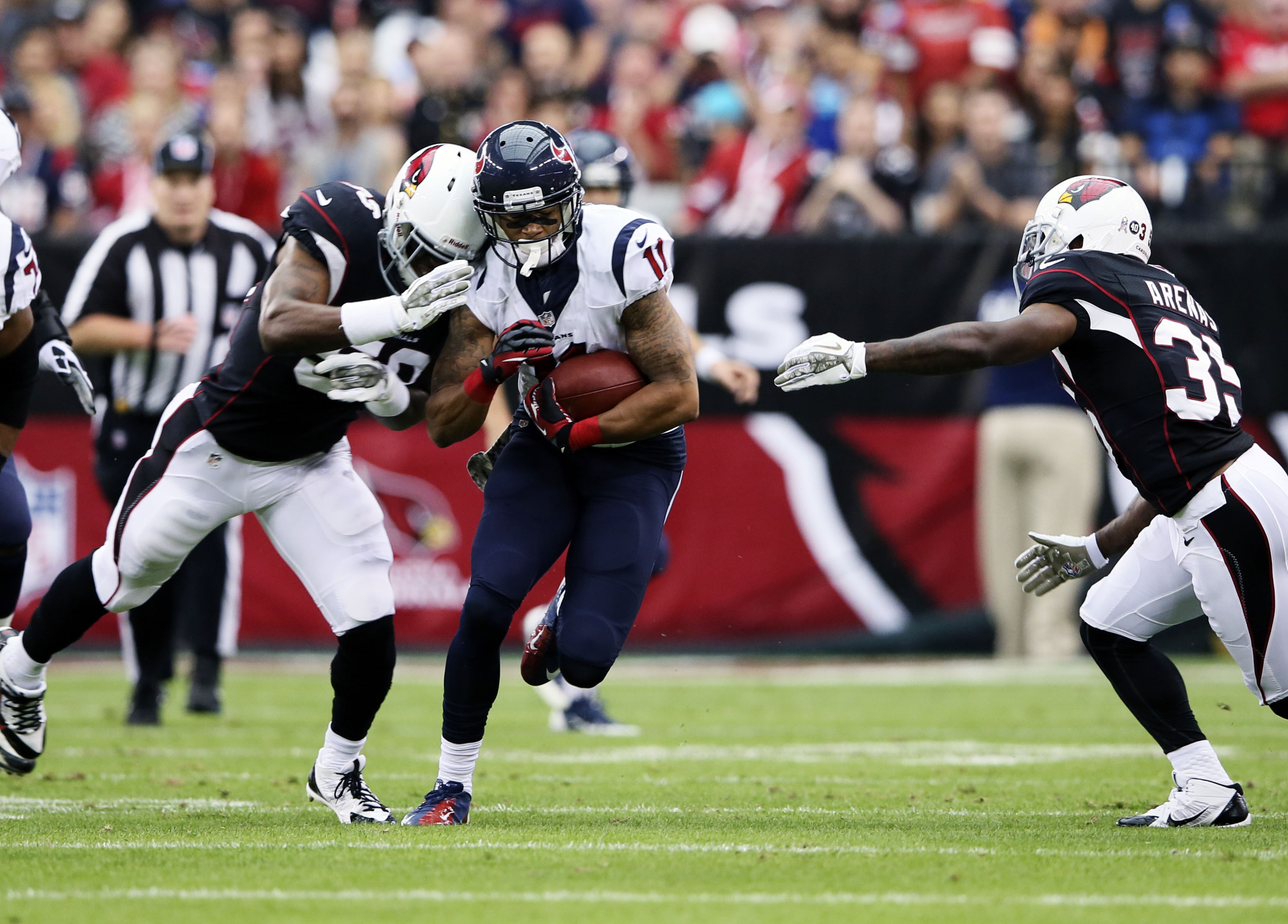 DeVier Posey is emerging as a reliable pass catcher for the Texans.