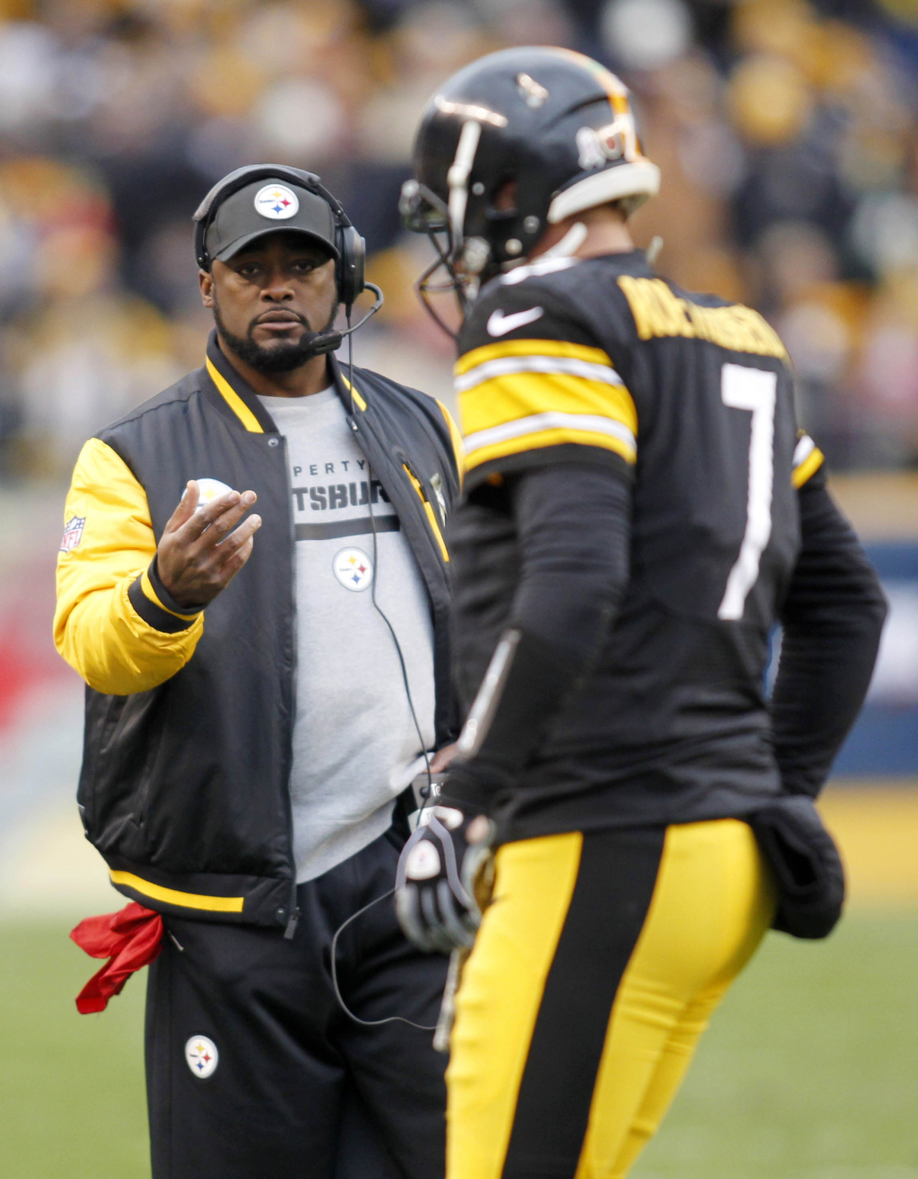 """Is Tomlin considering playing Ben a little at DB to stop """"Megatron?"""""""