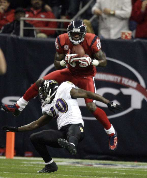 One of these men is the best player in Texans' franchise history.  The other was an unmitigated disaster for the Texans.