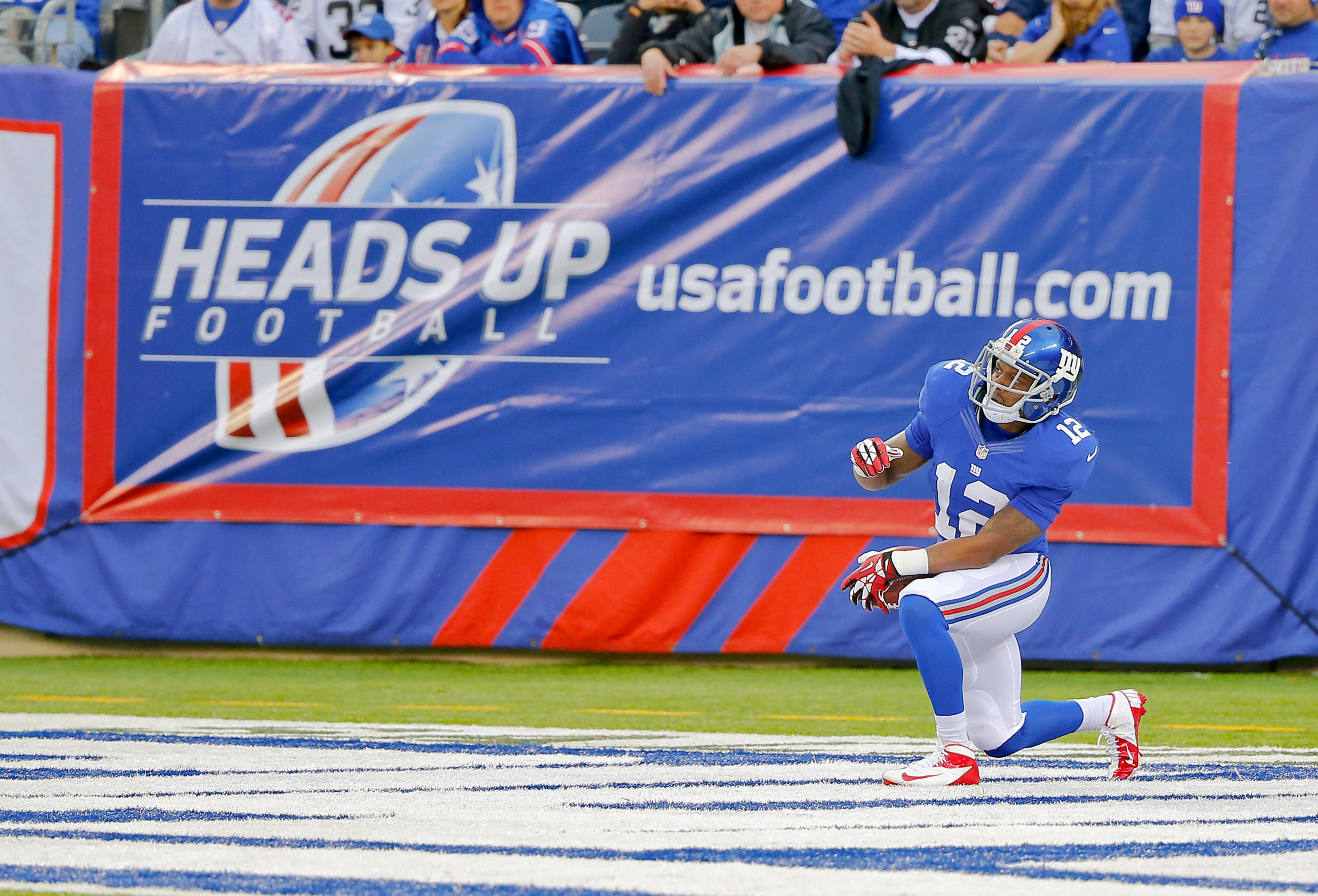 Maybe the Giants should do this all the time on kickoffs
