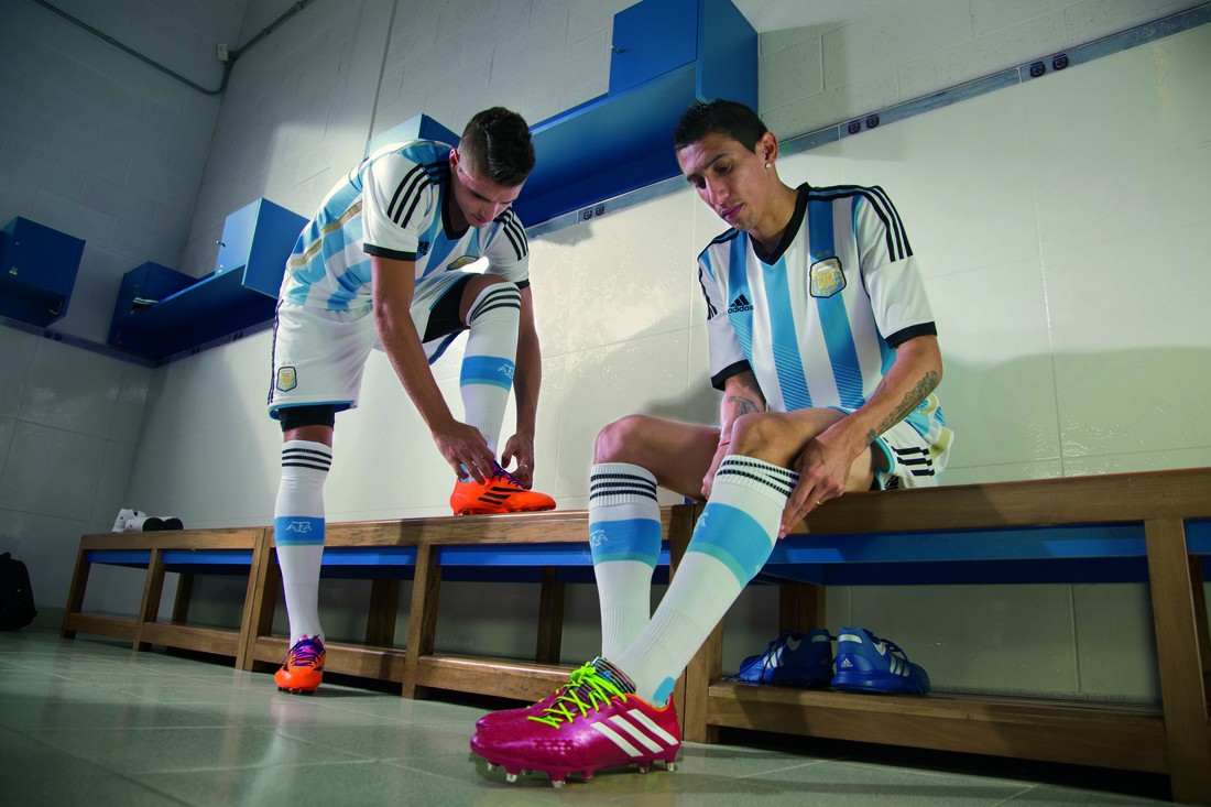 adidas launches World Cup kits for Argentina, Russia, Japan, and Colombia
