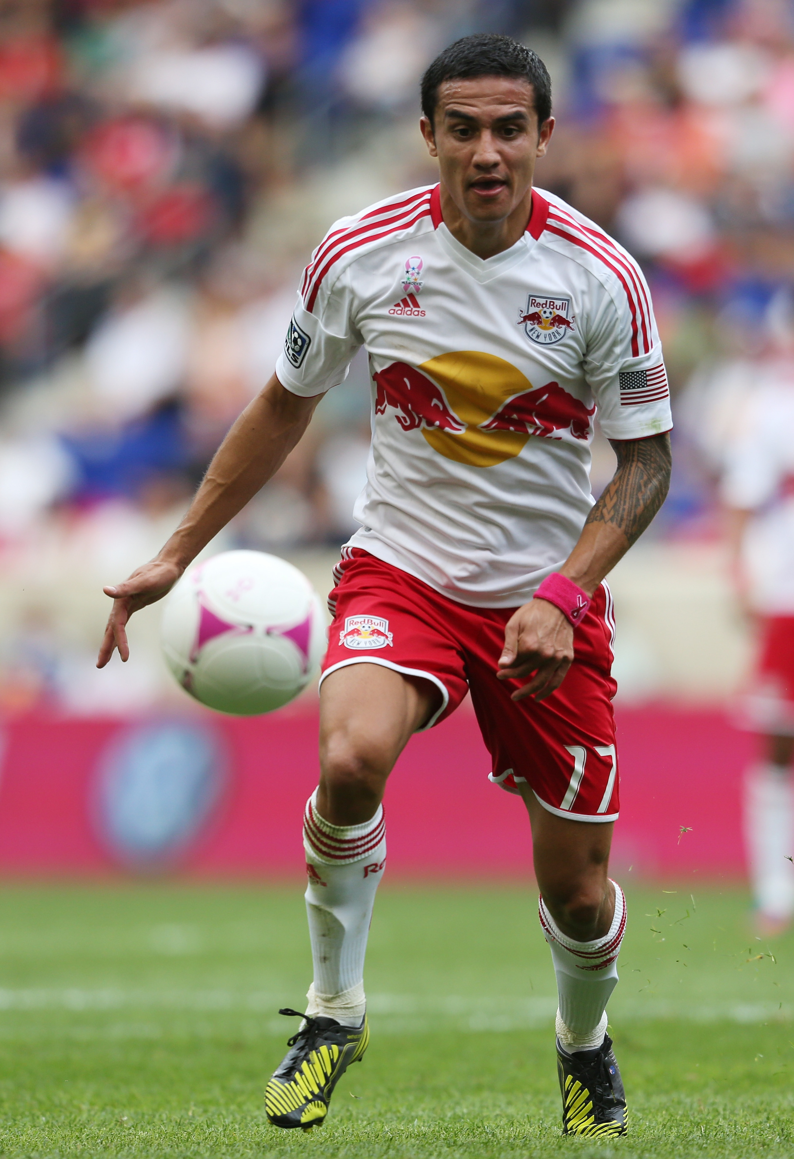 Tim Cahill is one of the many players who came to the Red Bulls during the 2012 season.