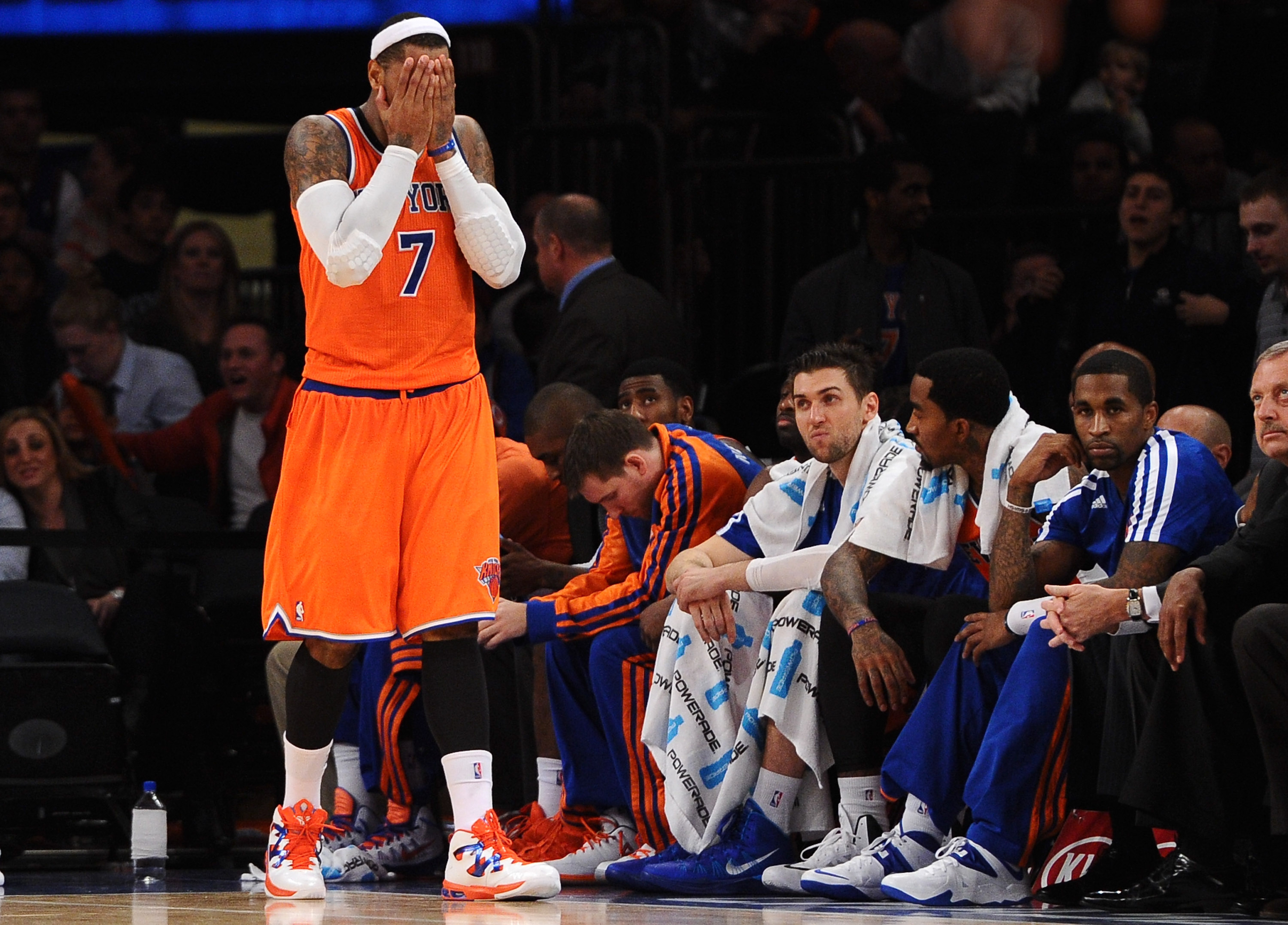 Carmelo Anthony: 'It's like we aren't even trying right now'