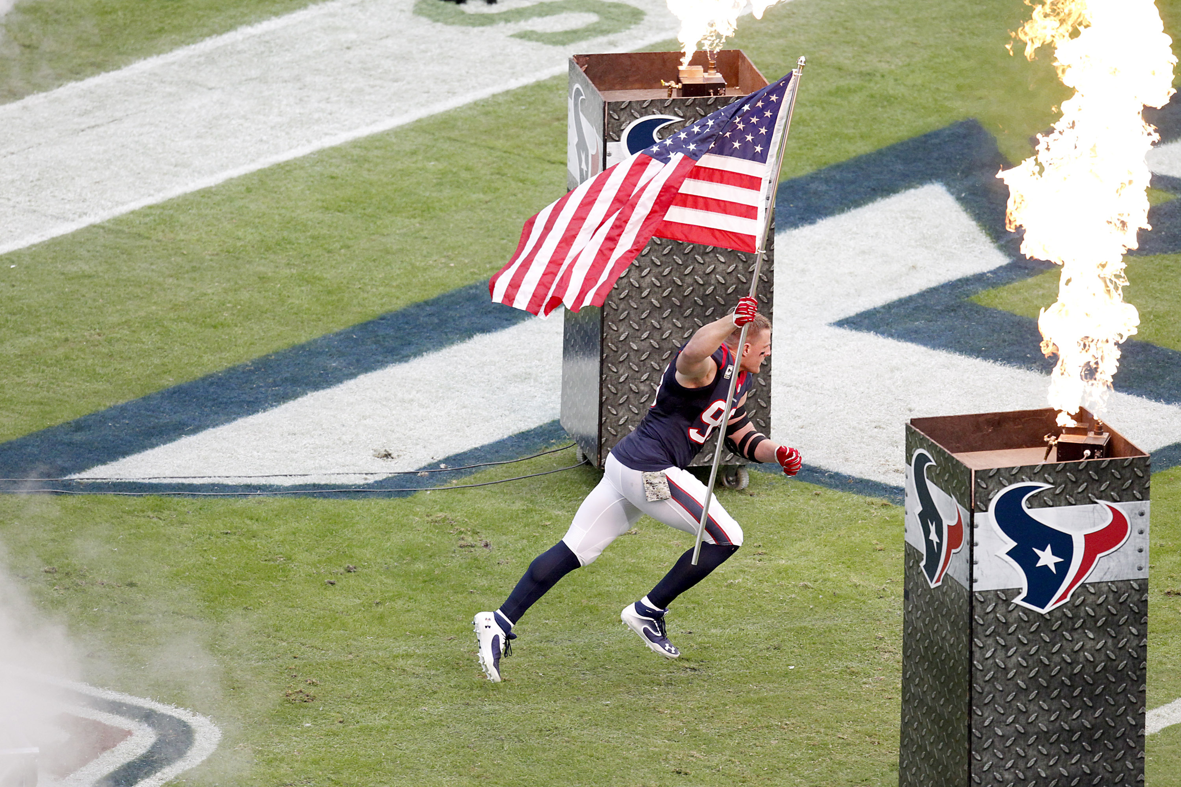 J.J. Watt, American Hero.