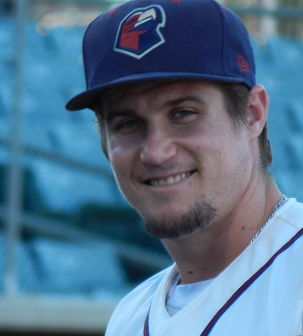 Tyler Heineman before game one of the 2013 California League South Division finals.