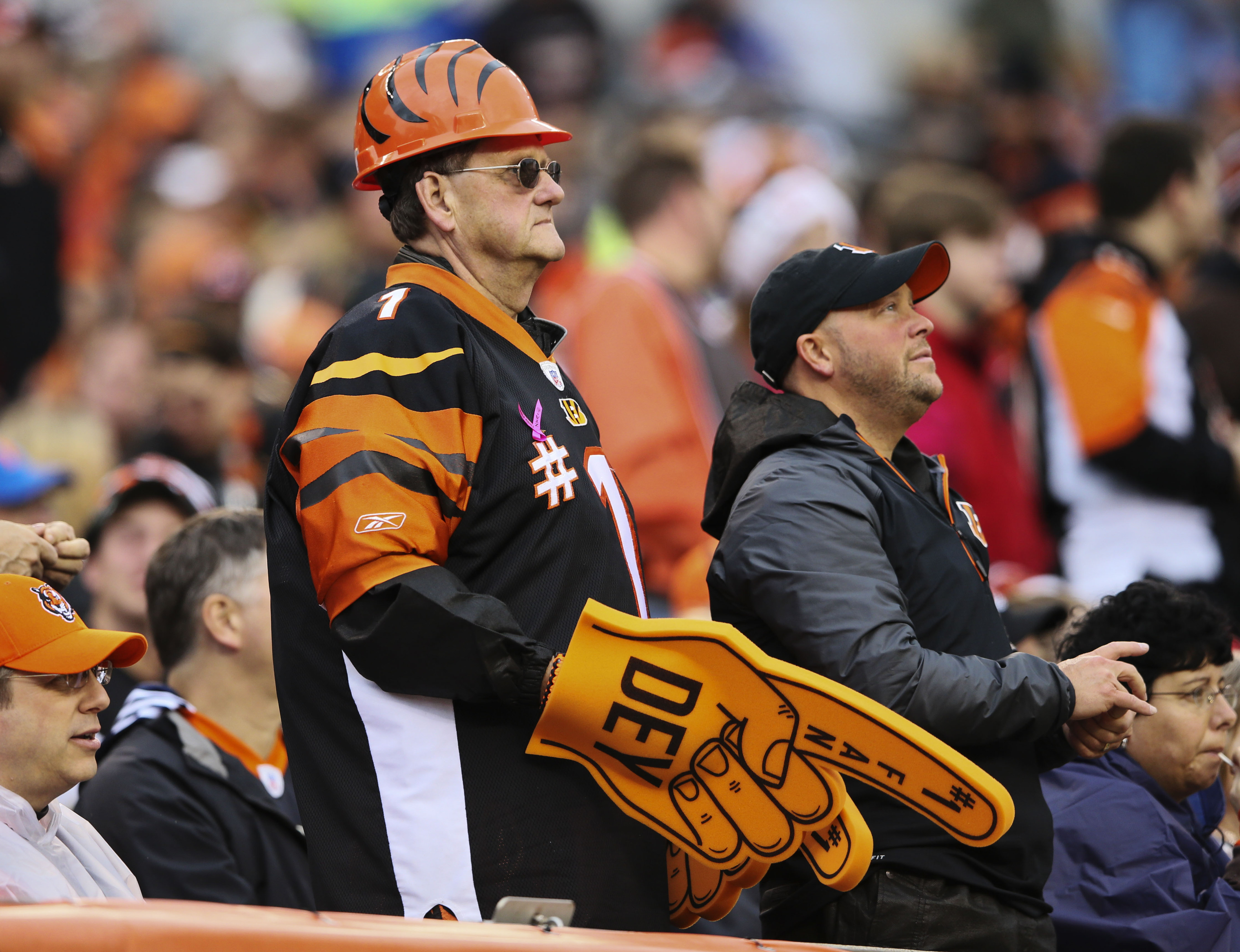 Even the Bengals #1 fan isn't sure how to process what happened on Sunday.