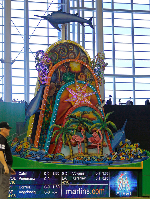 What else will be joining the Monstrosity in Marlins Park in 2014?