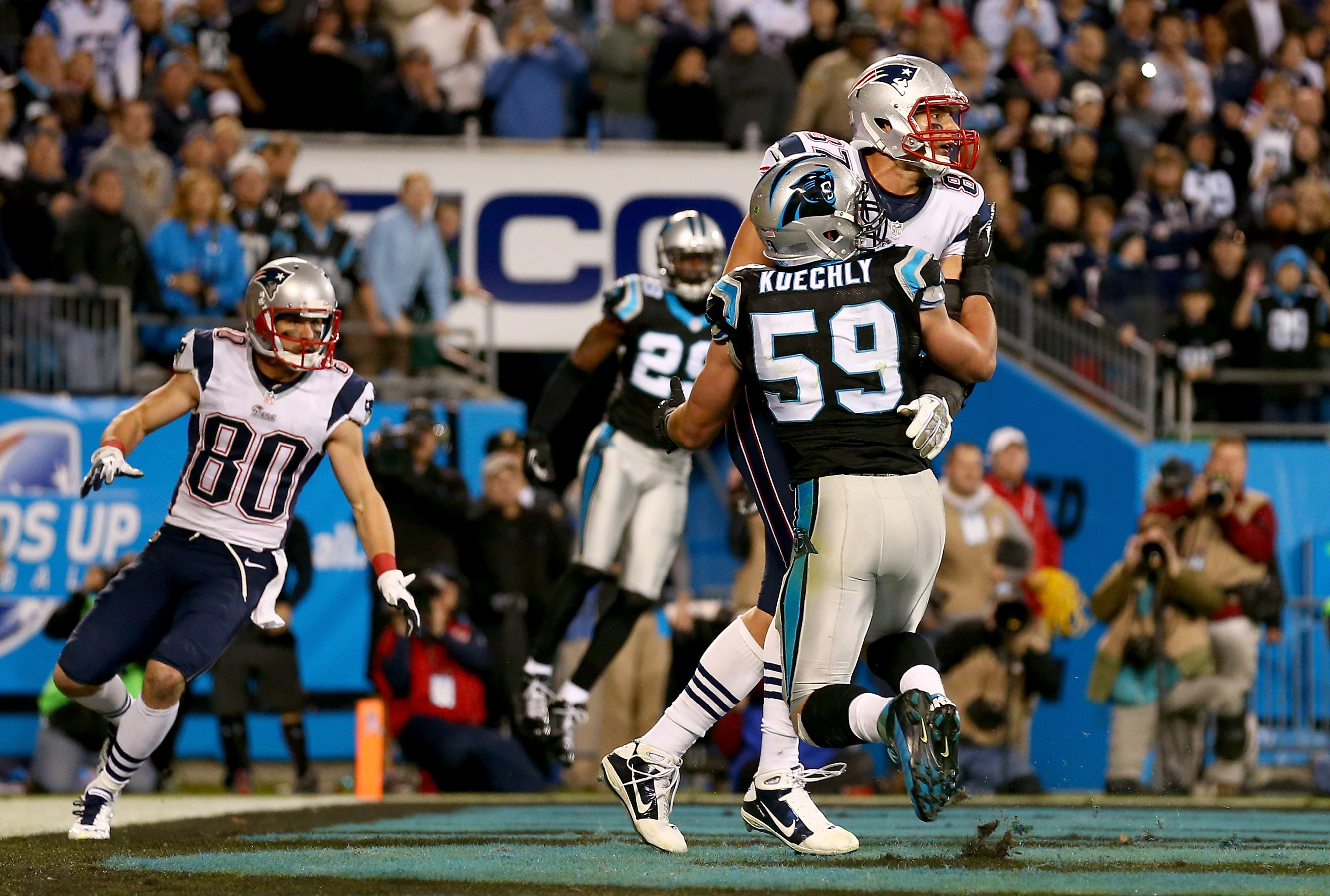 Patriots vs. Panthers 2013, Week 11: Carolina beats New England in Monday Night Football thriller