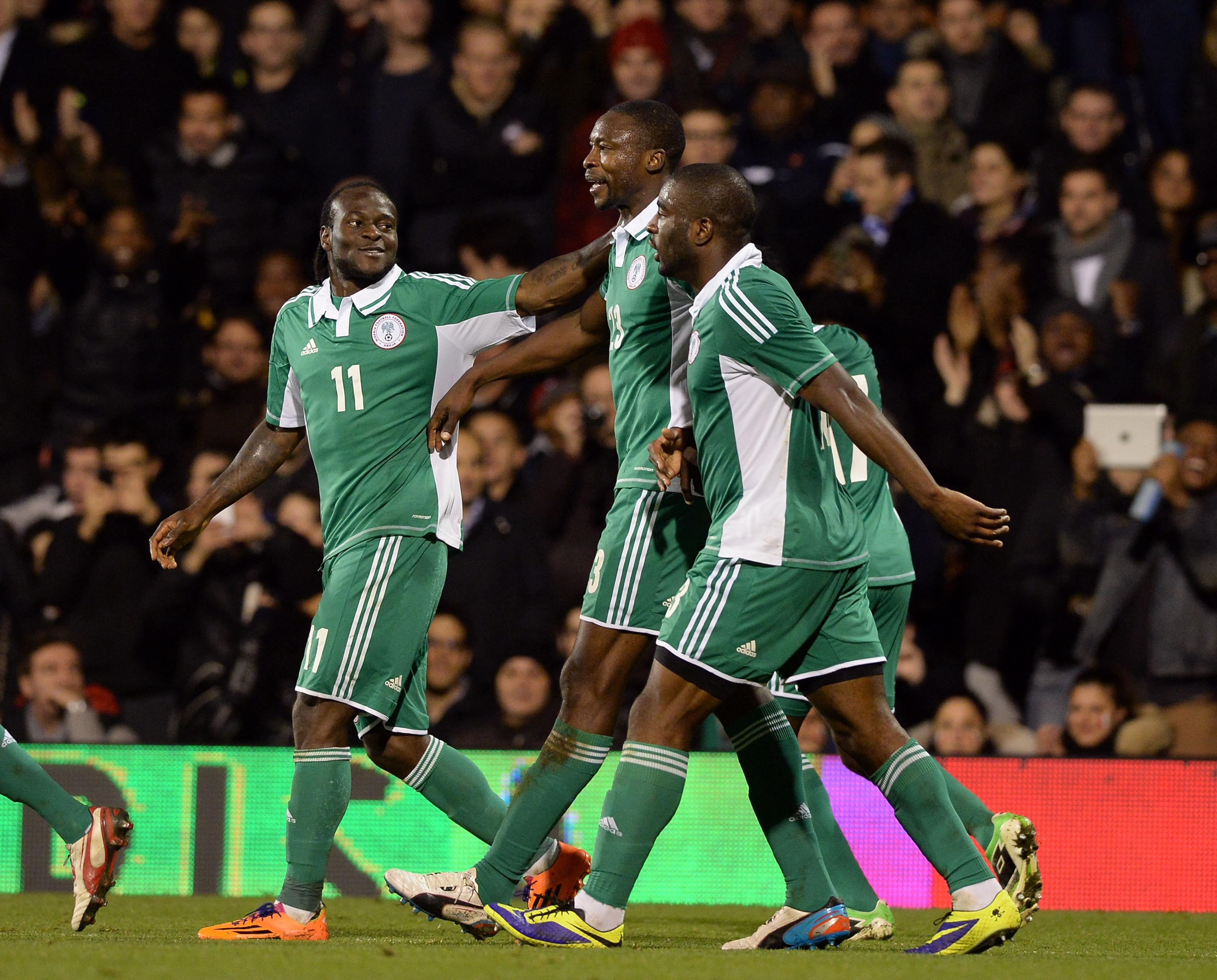 Shola Ameobi - international level goal scorer