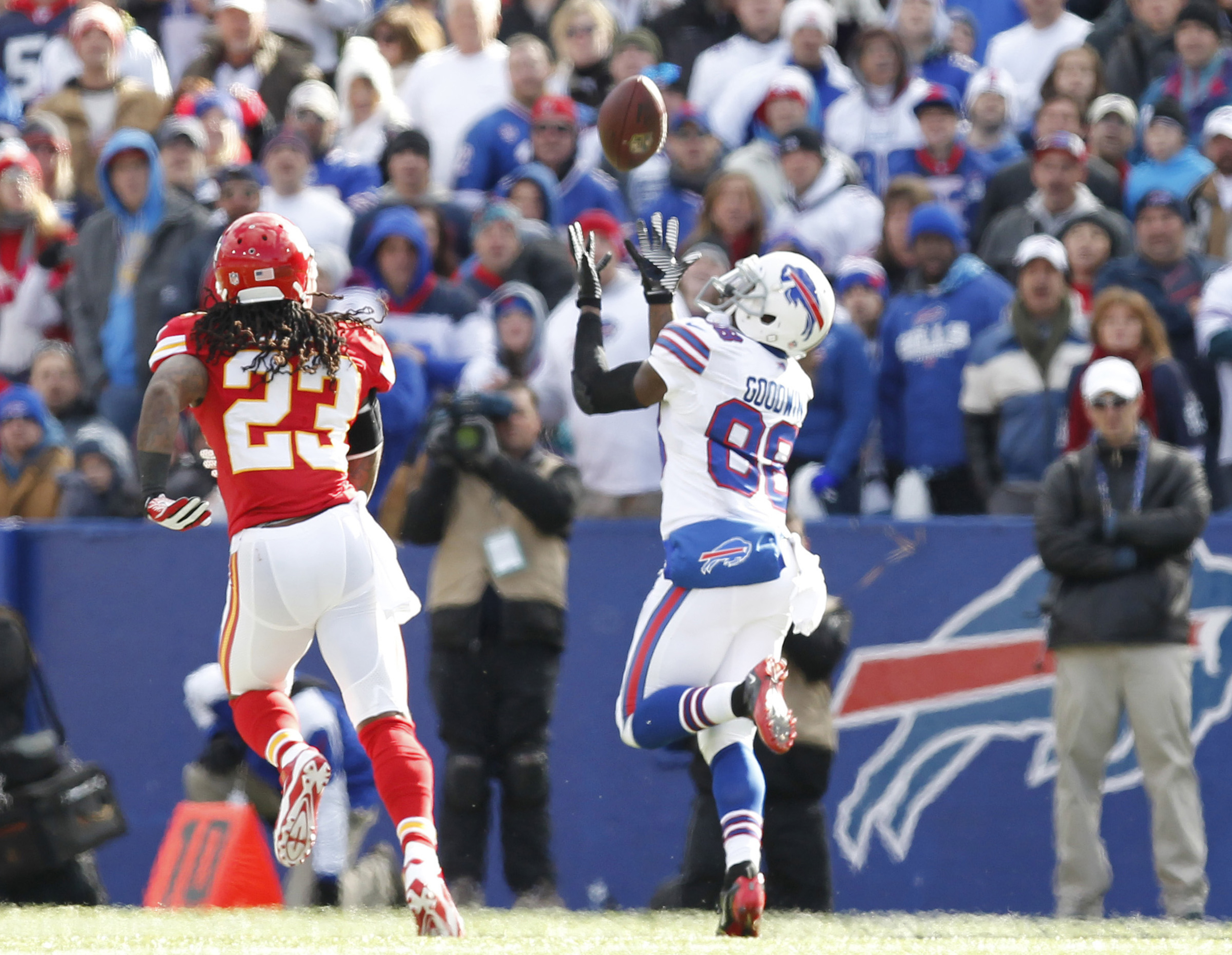 Going out on a limb here...Marquise Goodwin would have been a better option than Keshawn Martin.