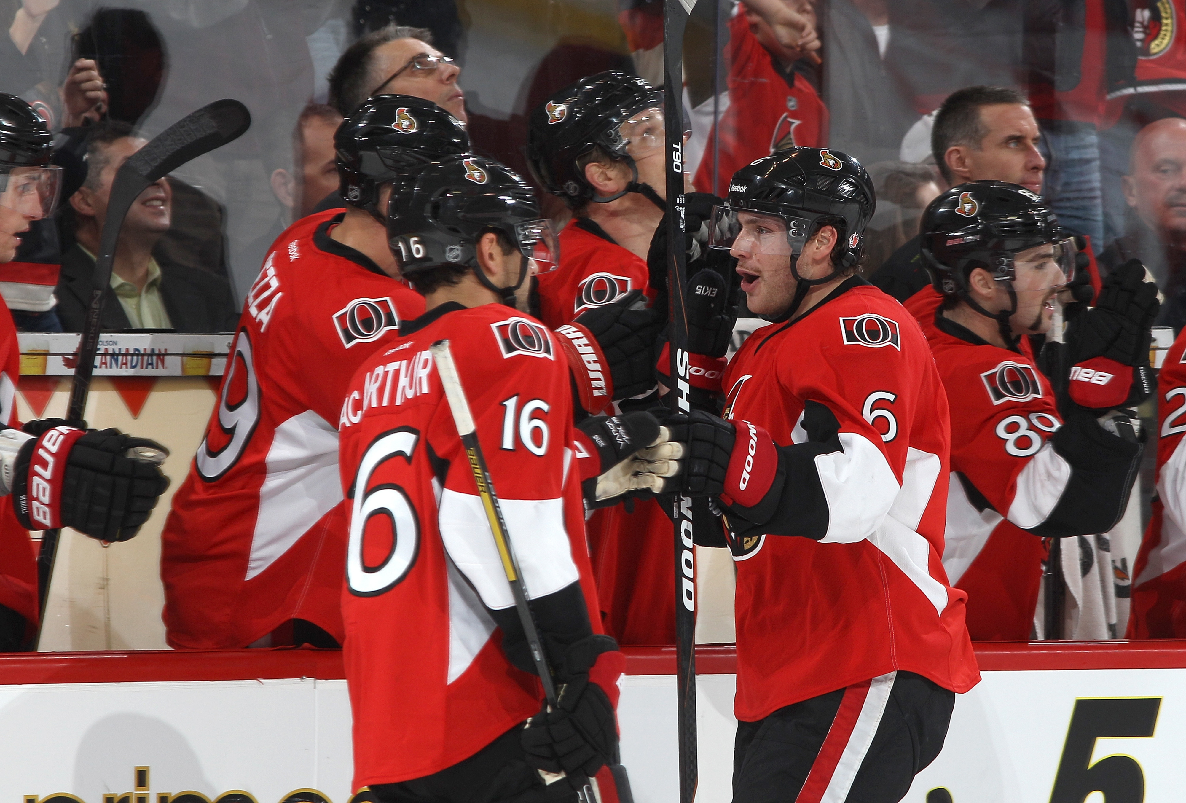 Kyle Turris is not invited to MacArthur and Ryan's Six Party.