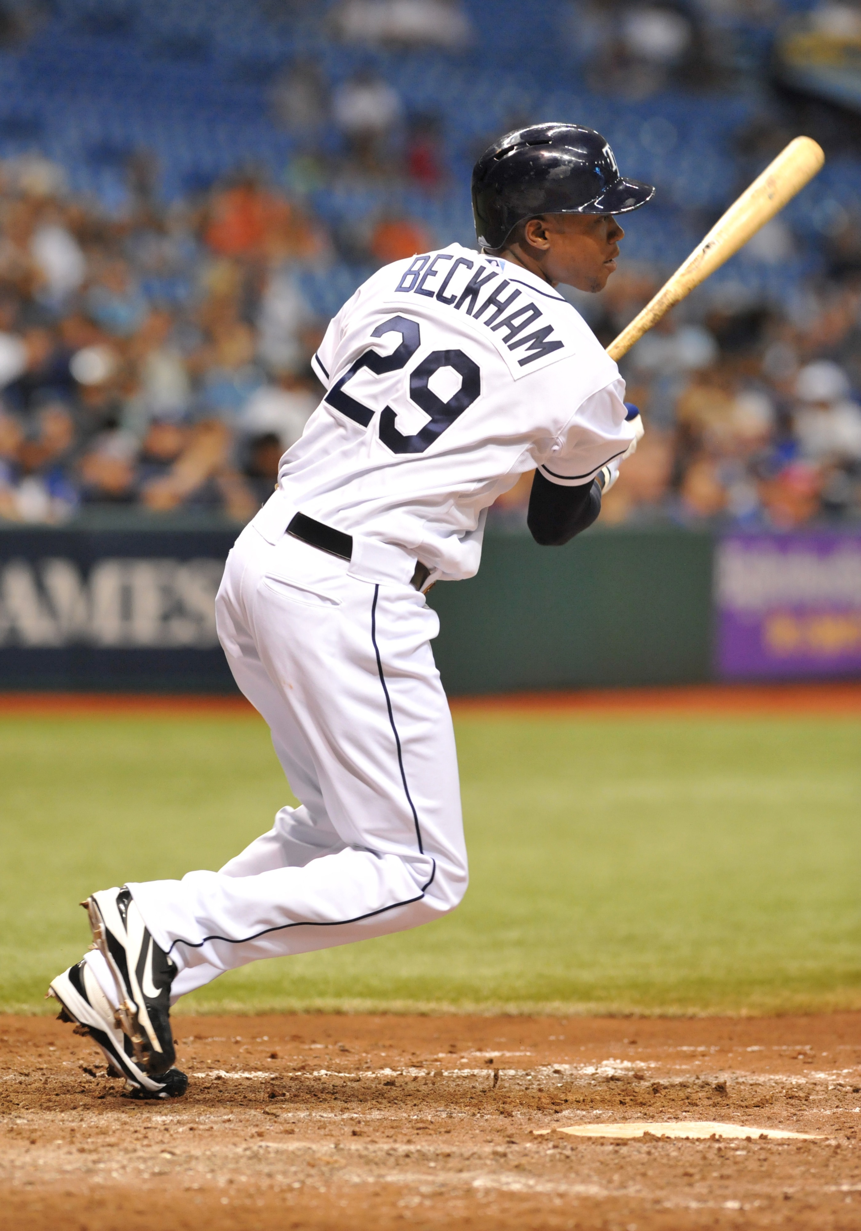 Tim Beckham finally reached the majors for a brief time in 2013