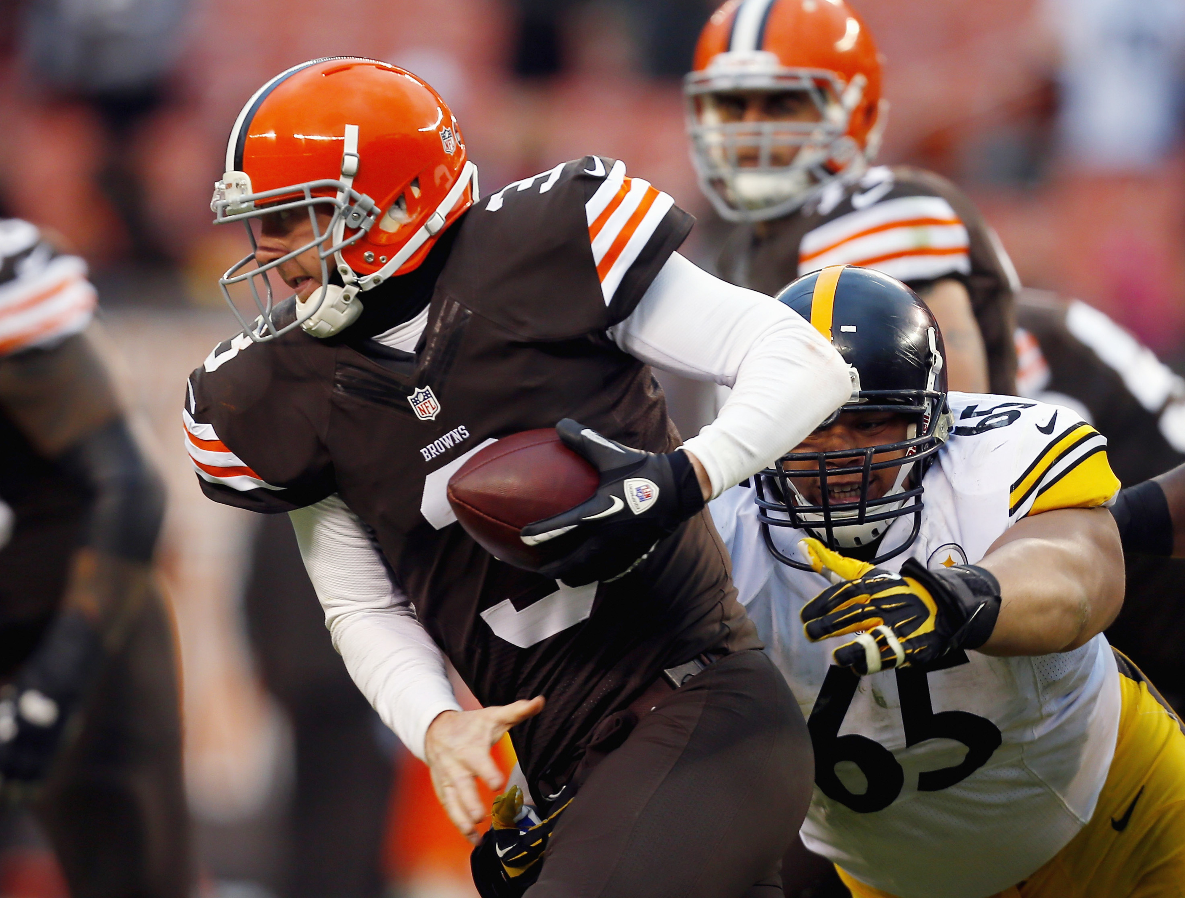 Al Woods played well vs. the new Browns. Can he repeat vs. the old Browns?