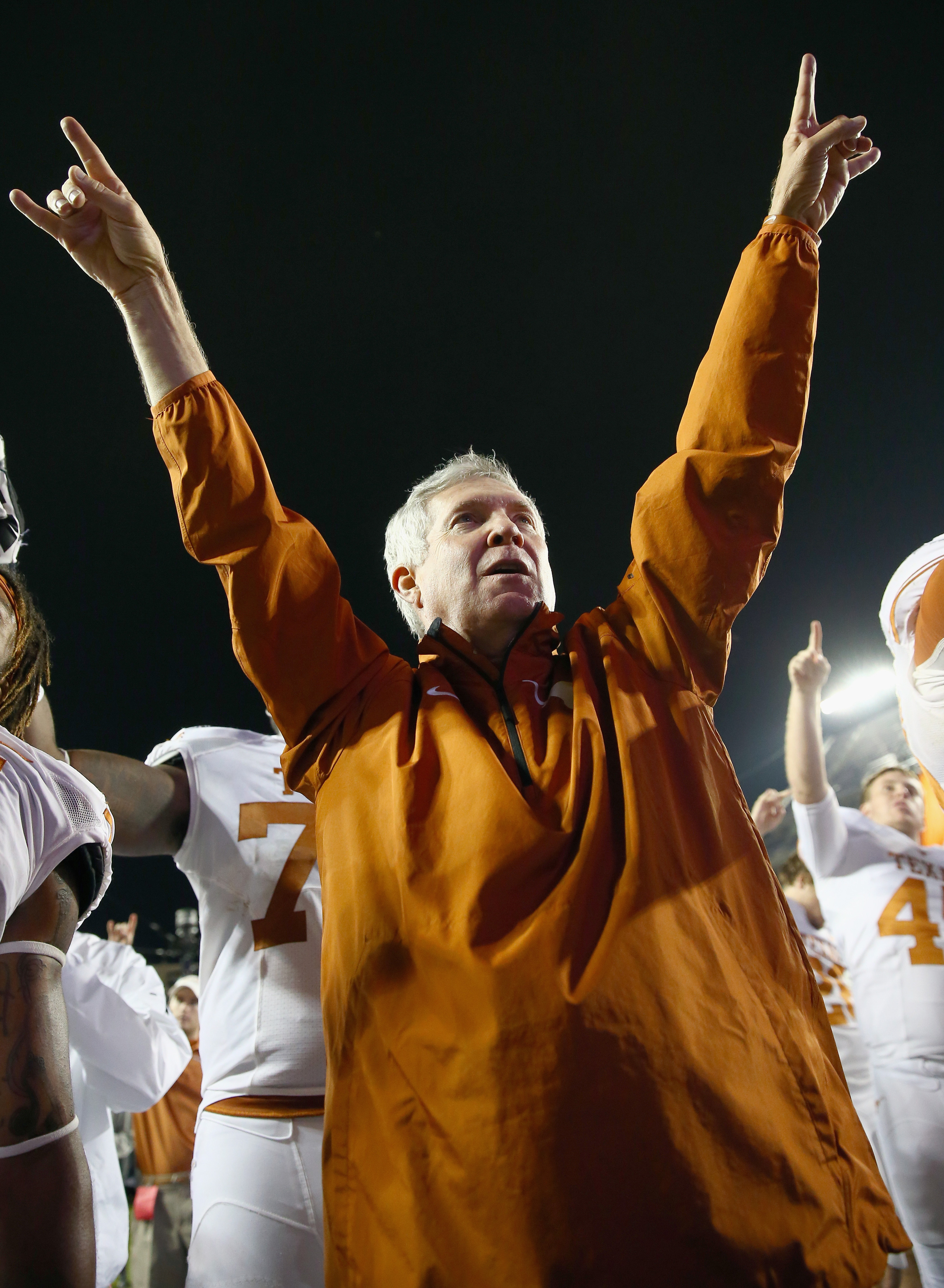 Is this Mack Brown's last Thanksgiving game?
