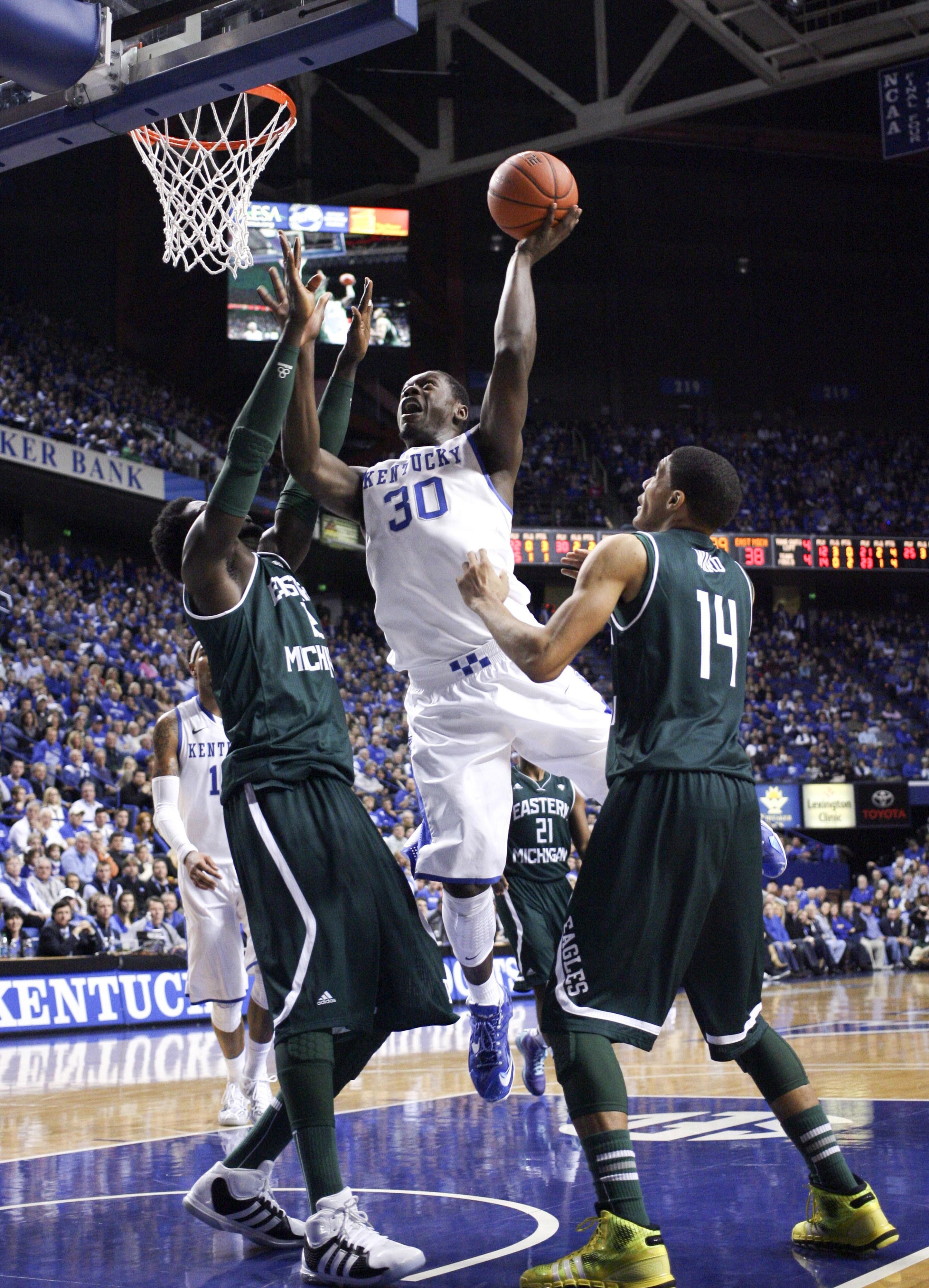 Kentucky vs. Eastern Michigan final score: Wildcats pull away late for 81-63 victory