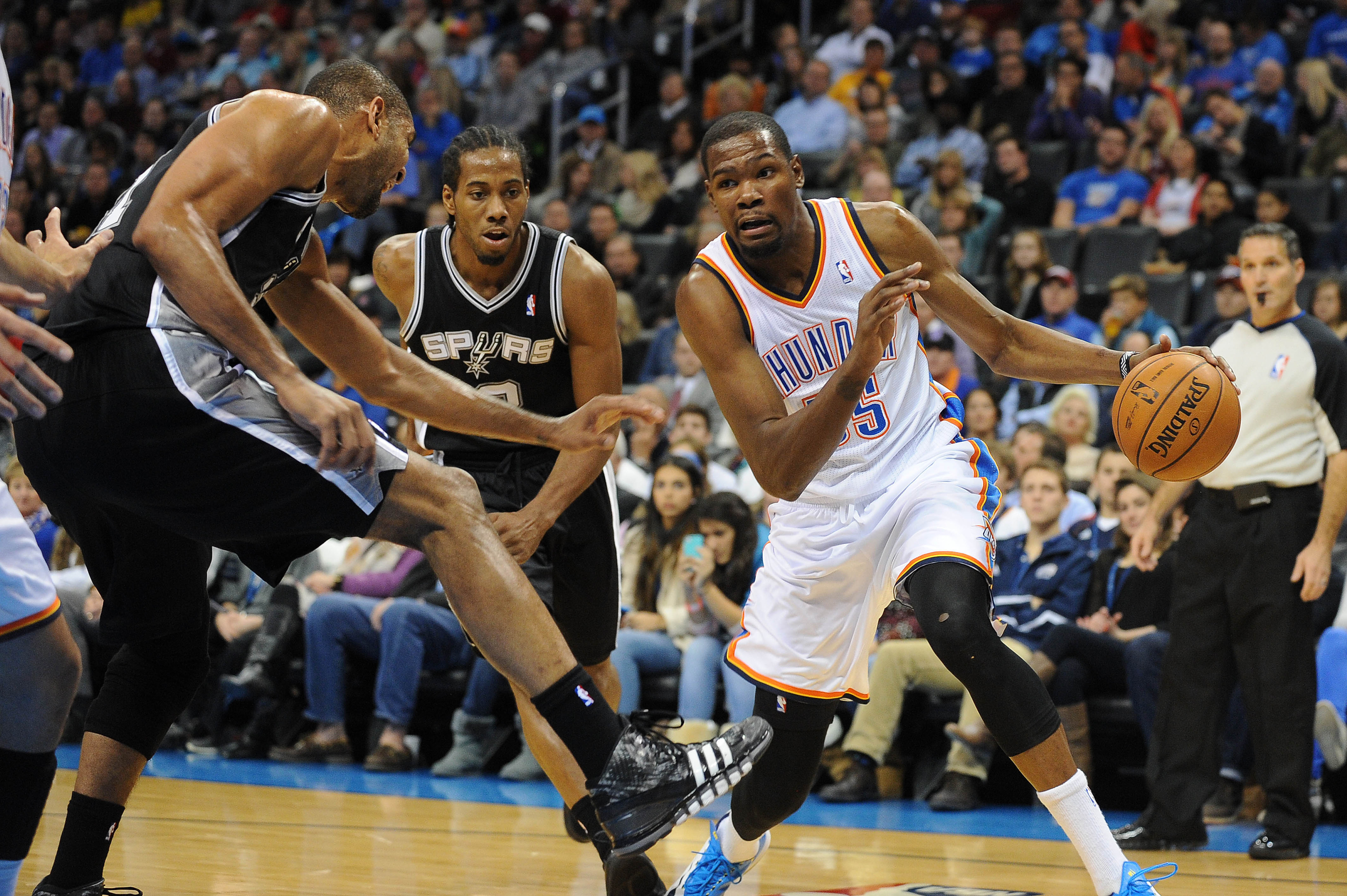 Spurs vs. Thunder final score: OKC overcomes brutal night from Russell Westbrook in 94-88 win