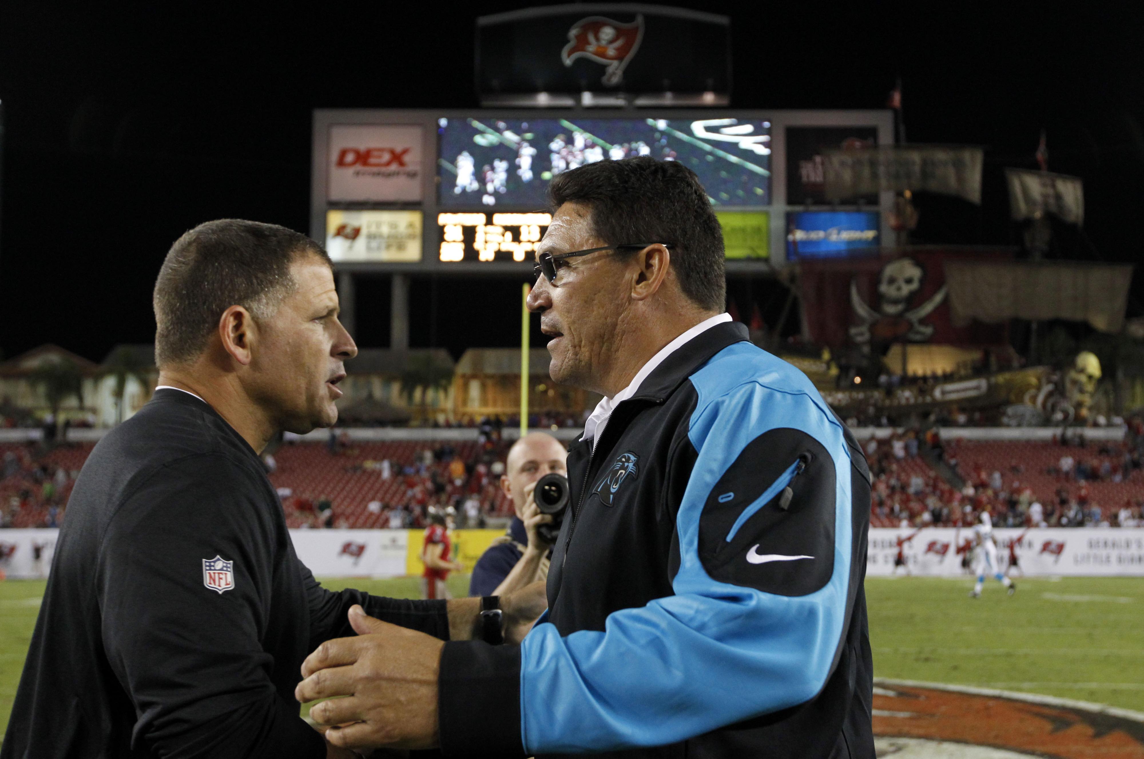 Ron Rivera tells Greg Schiano to 'stay the course'