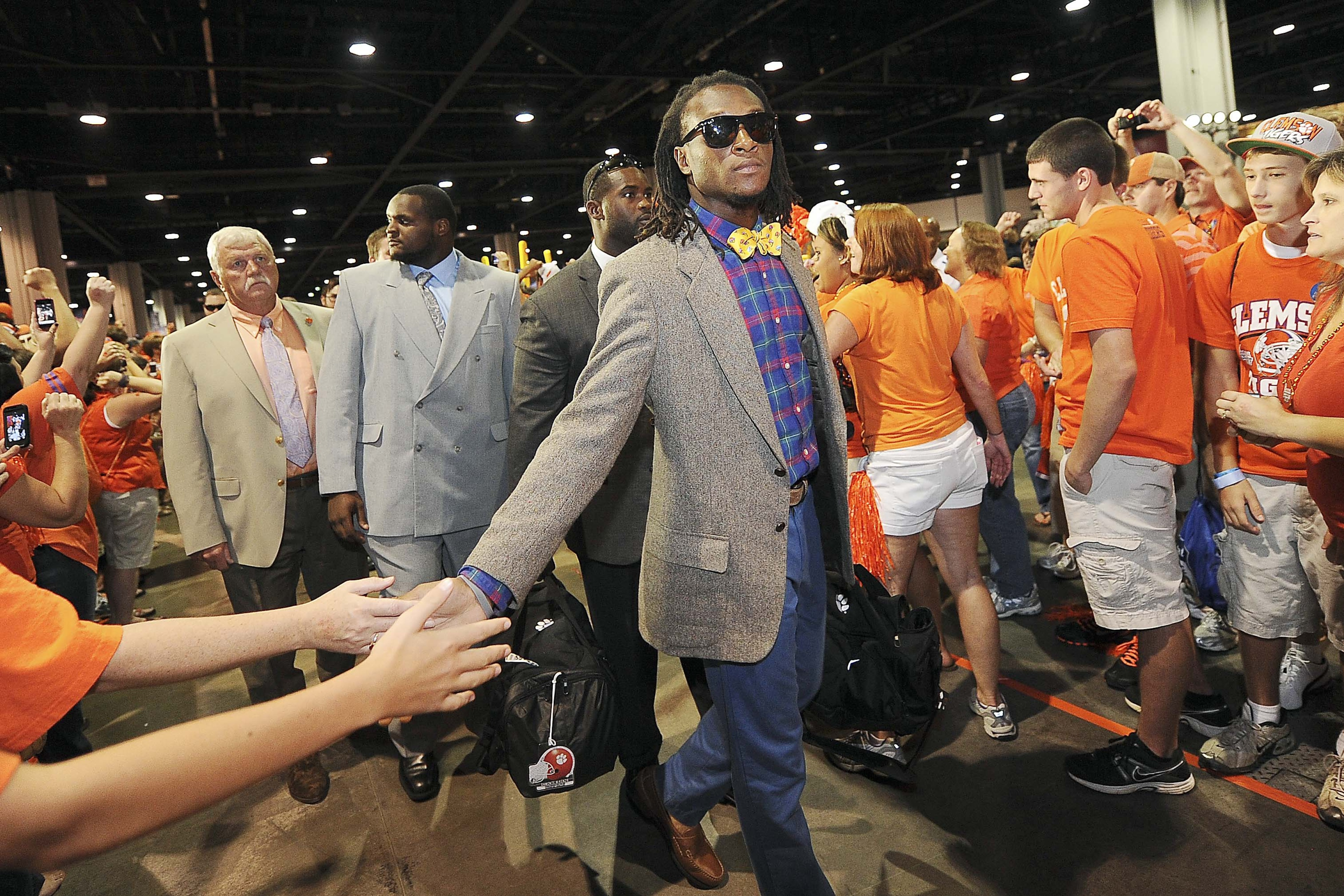I reckon Nuk will be tuned in to ESPN2 at 6 p.m. CST today.  I hope he's dressed for the occasion.