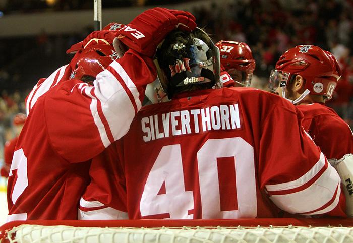 Allen Americans goaltender of the week Steve Silverthorn