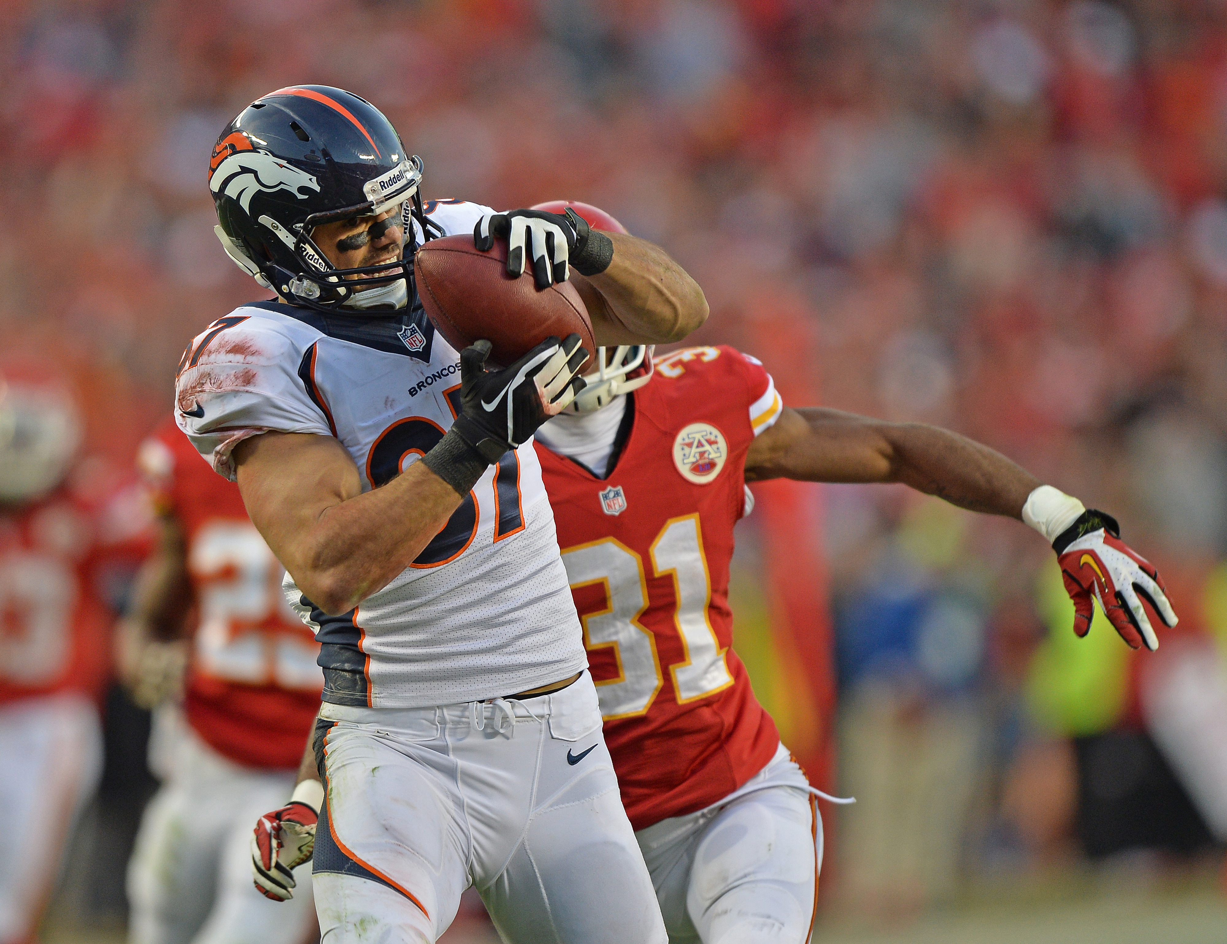 Broncos vs. Chiefs 2013: Peyton Manning 'operates at high level' in win