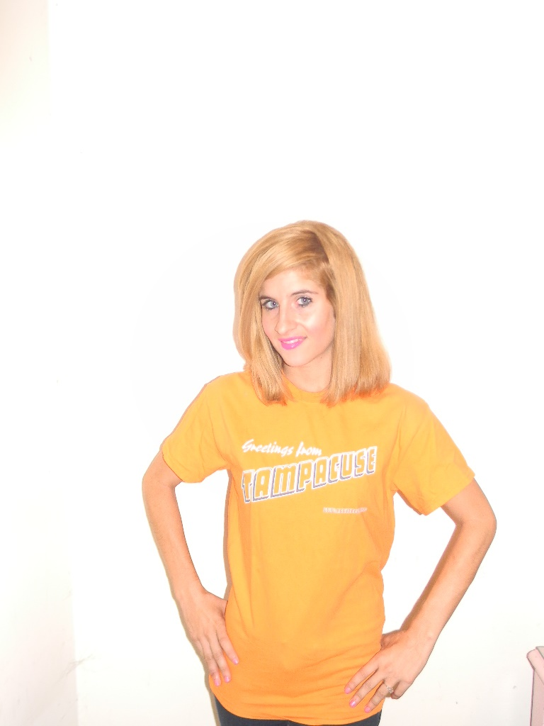Get your Tampacuse T-shirts for 15% off today (Patti McDonald not included).