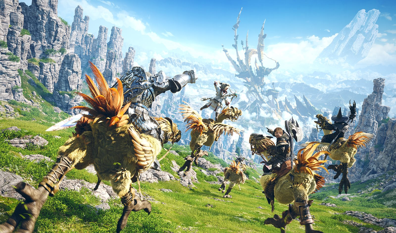 Final Fantasy 14: A Realm Reborn will launch on PS4 in April 2014