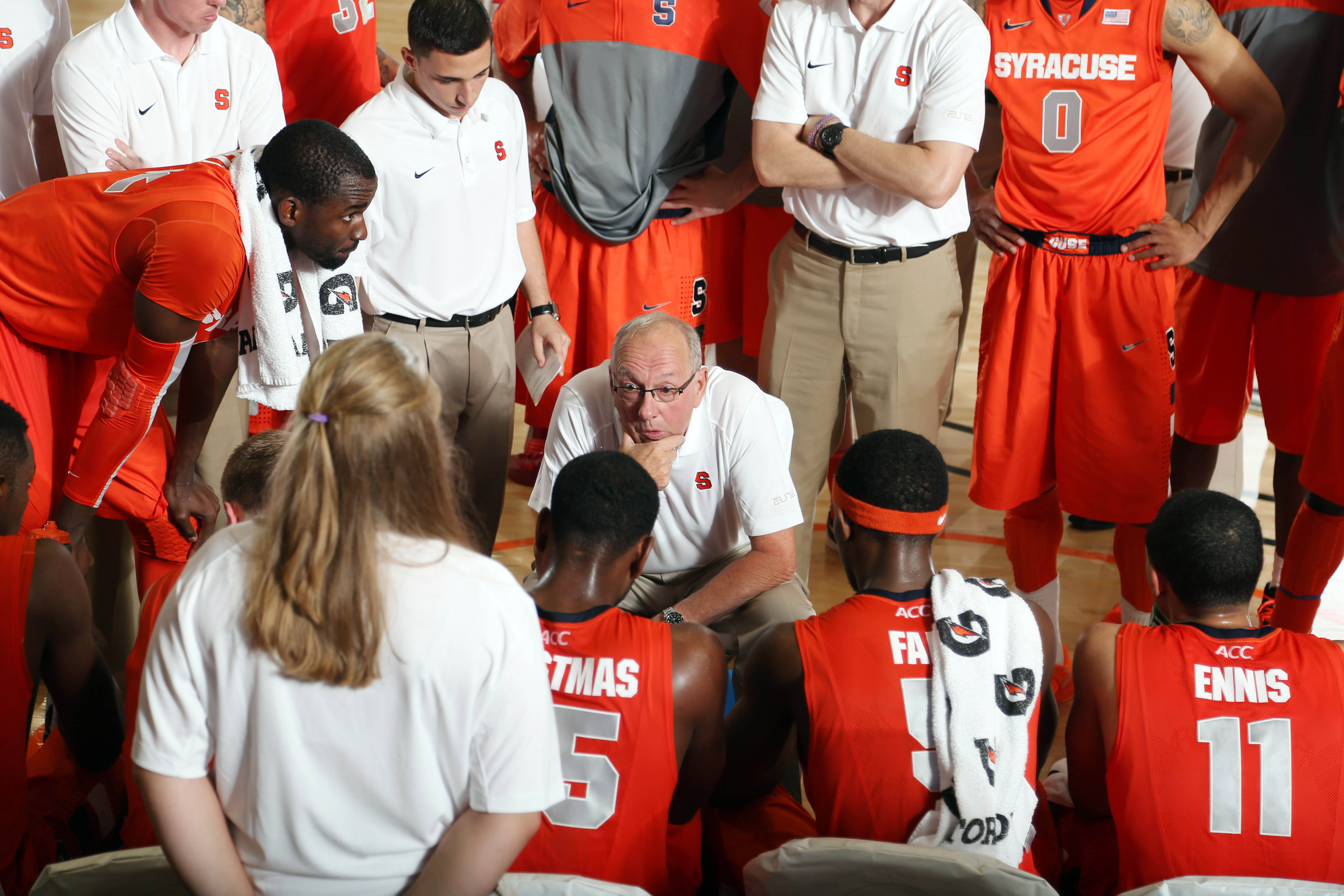 Syracuse, one of three teams new to the Challenge, helps headline the Tuesday games.