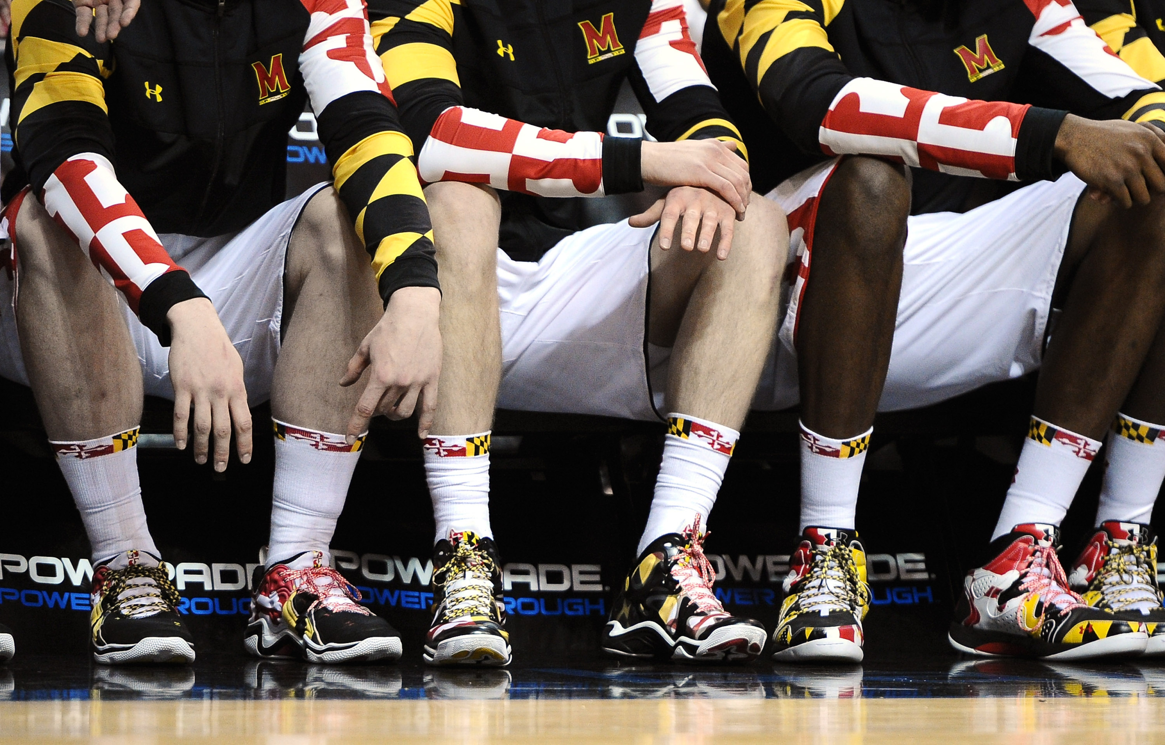 Maryland, in its final Challenge as an ACC school, is taking uniform branding to crazy levels.