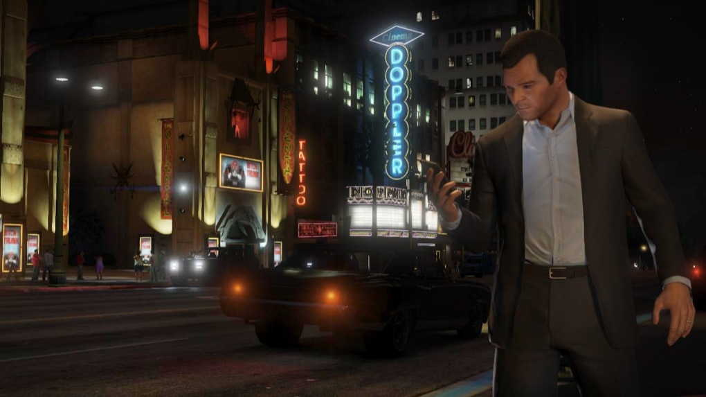 Grand Theft Auto 5 goes platinum at Sony PlayStation Awards