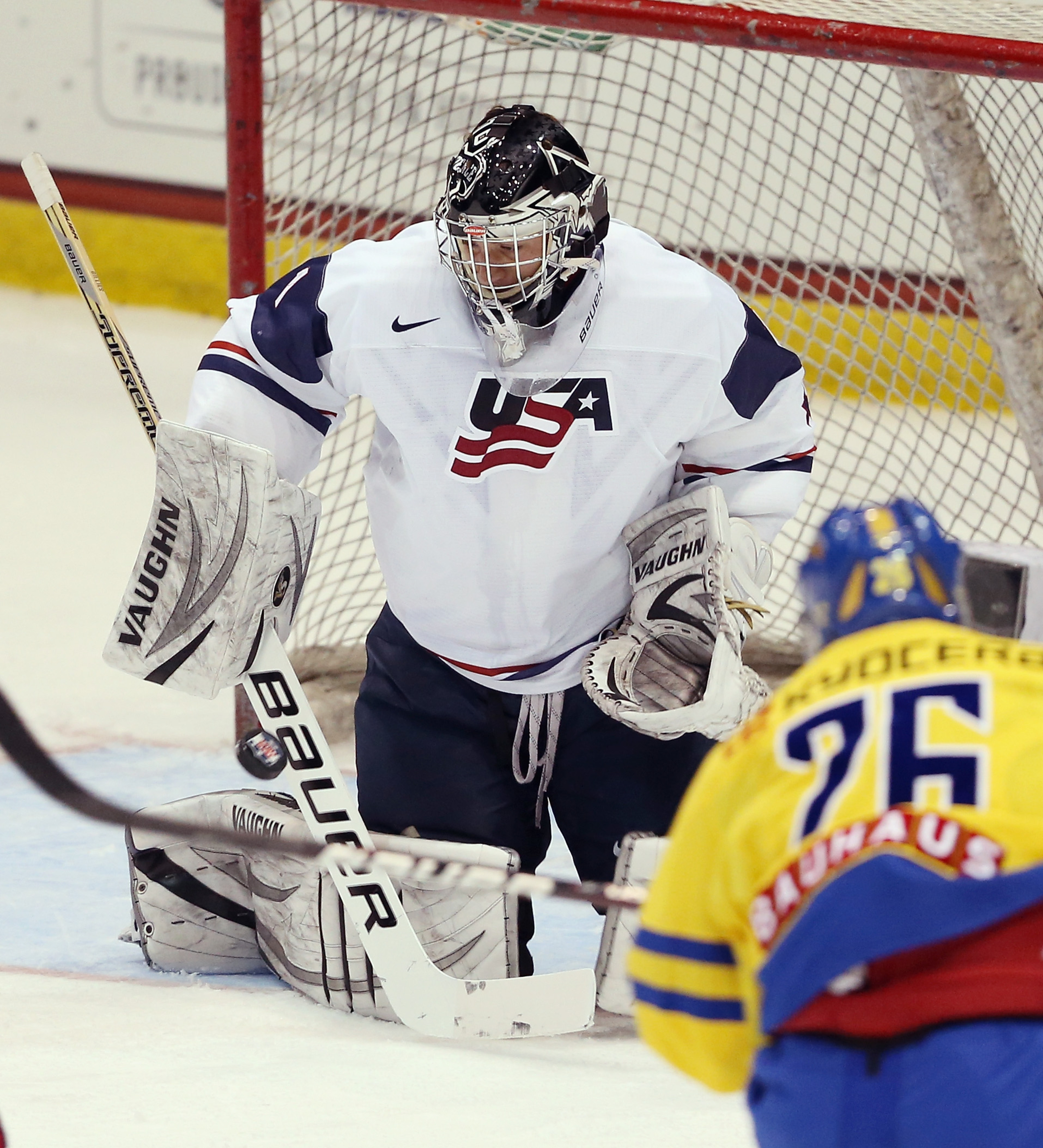 Team USA will need to rely on the steady goaltending of Providence's Jon Gillies