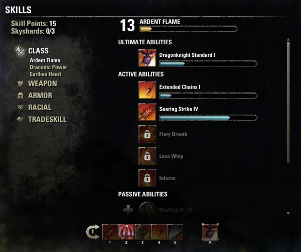 How The Elder Scrolls Online balances class choice with character progression