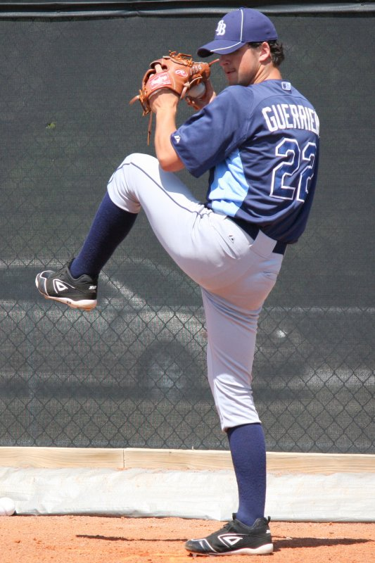 Taylor Guerrieri was pitching well until an elbow injury ended his season