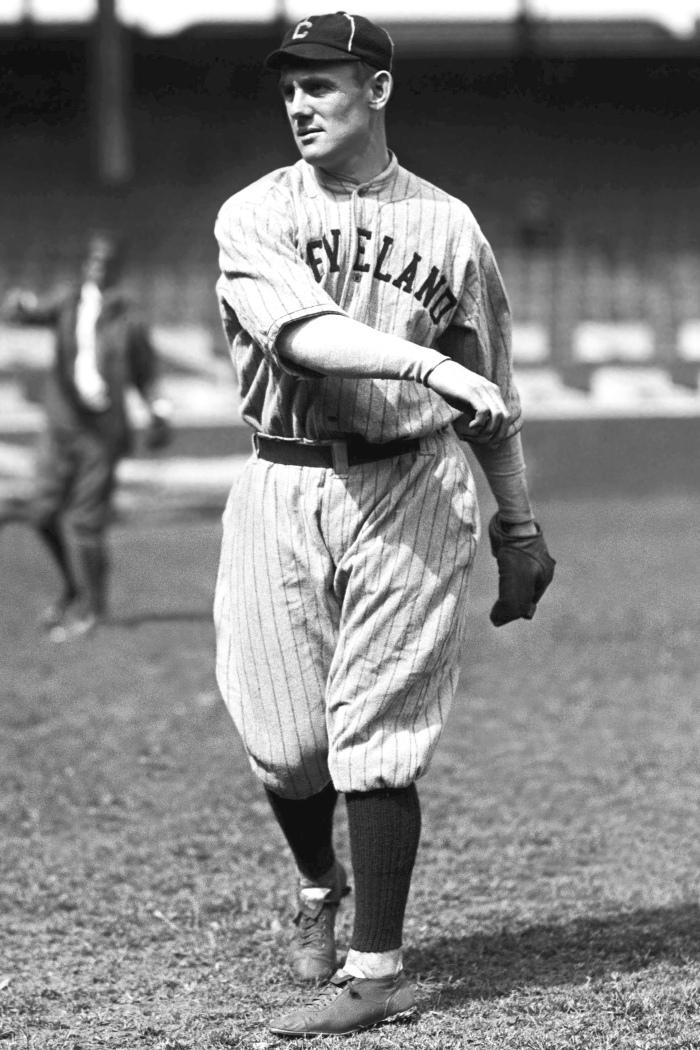 Ray Chapman in 1917