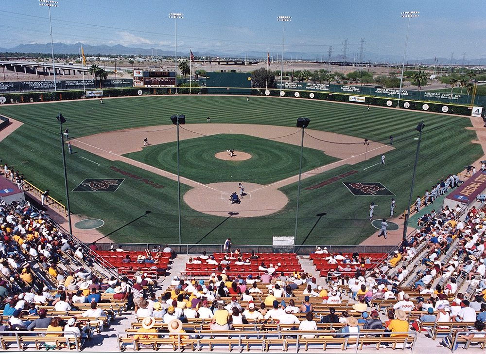 The Sun Devils time at Packard Stadium will soon be coming to an end.