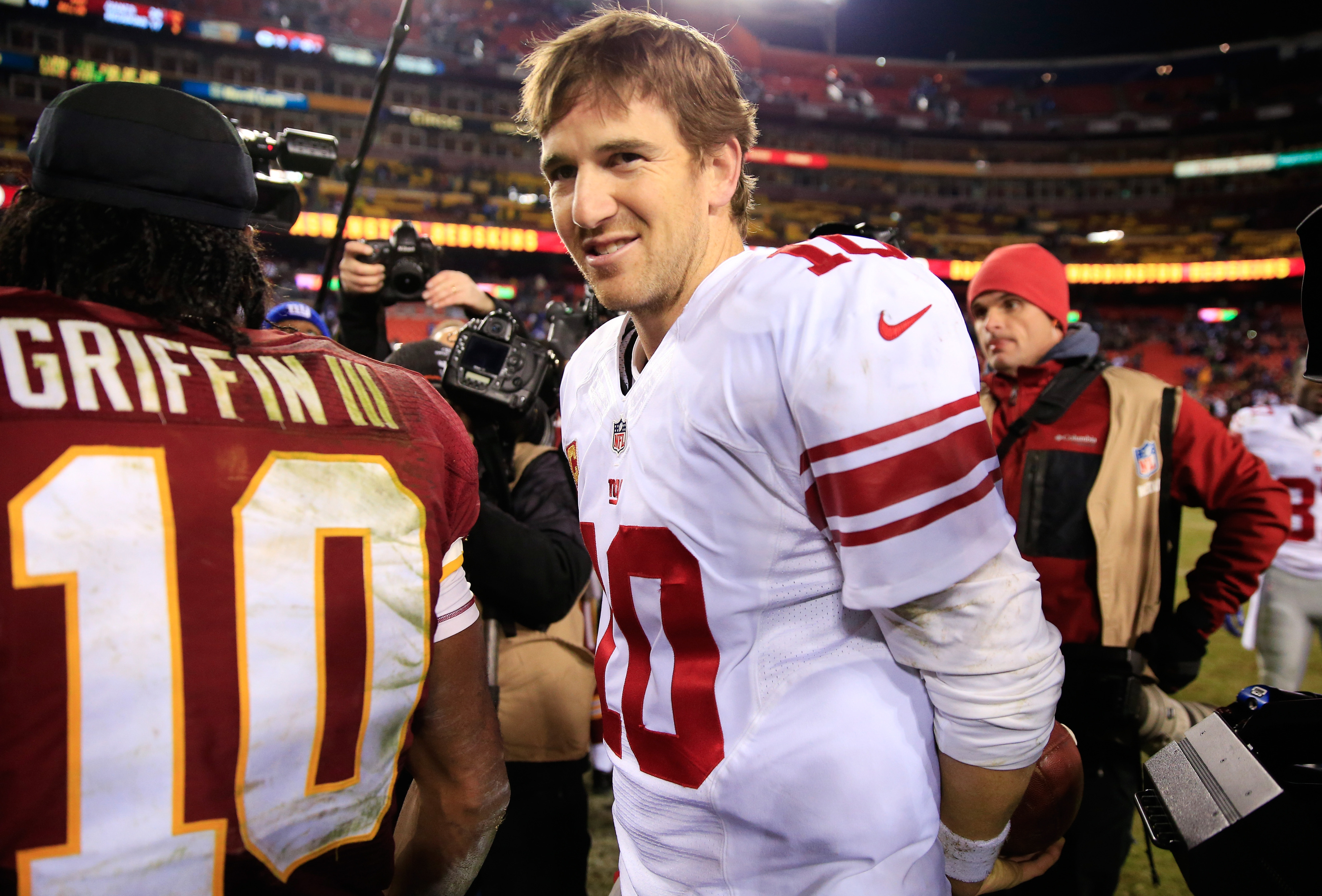 Will the Giants be smiling on their return trip from California?