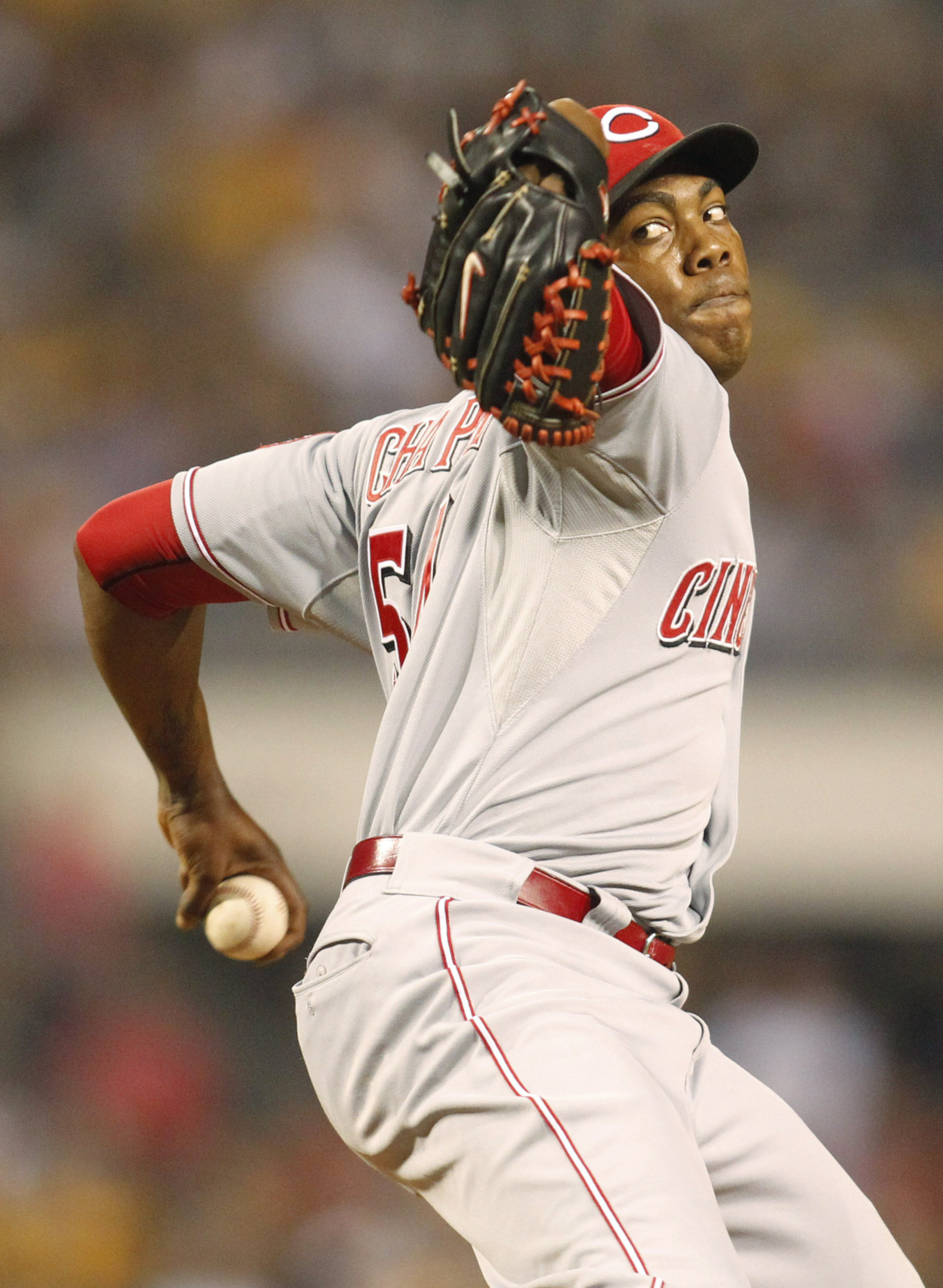 Aroldis Chapman says he will not start for the Reds